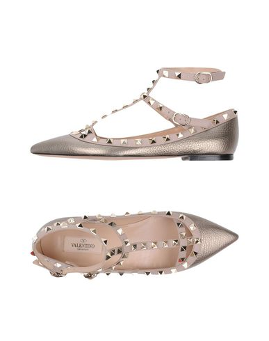 VALENTINO Ballet Flats in Gold