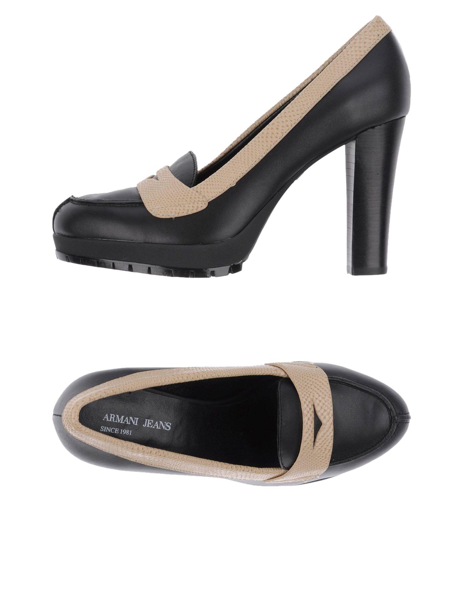 Gut um billige Schuhe zu tragenArmani Jeans Mokassins Damen  11308812HV