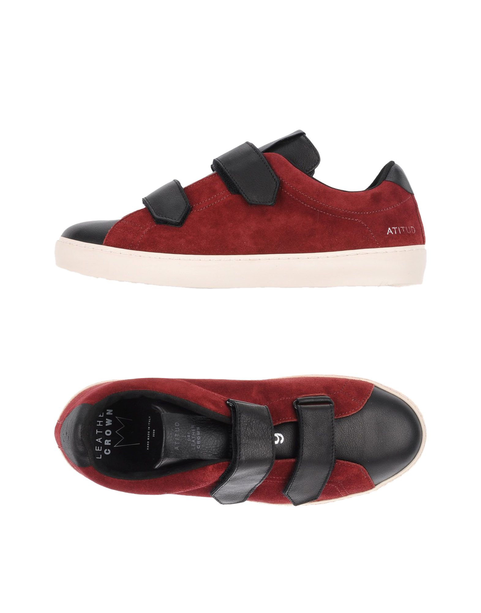 Leather Crown Sneakers Herren  11308841TB
