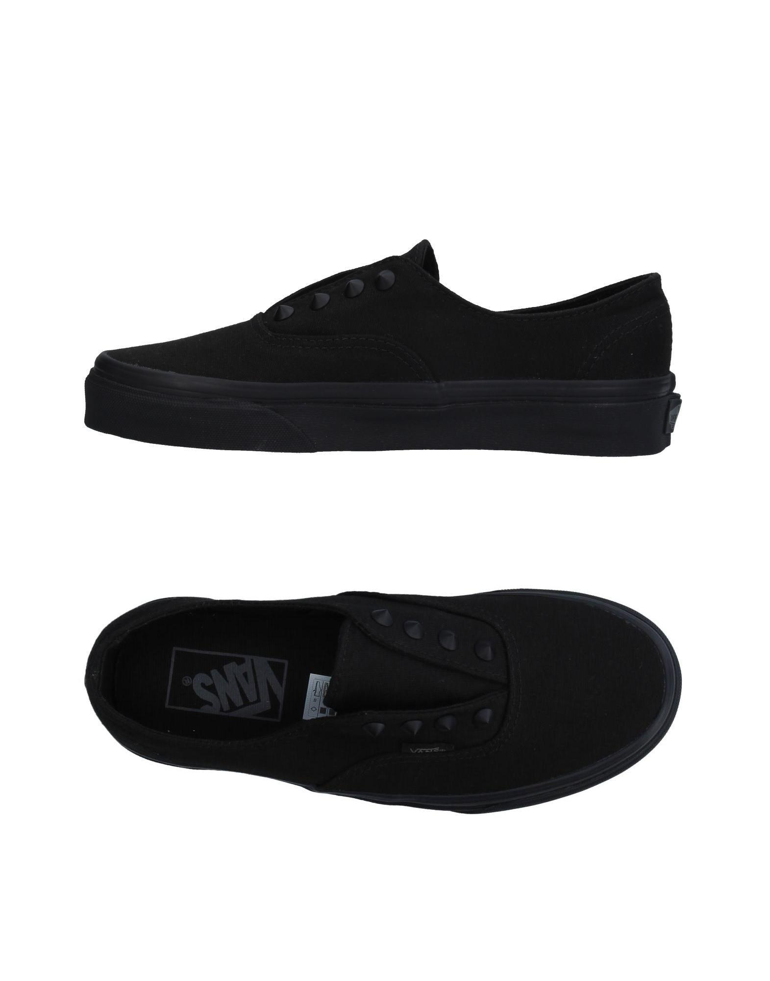 Baskets Vans Femme - Baskets Vans Noir Dernières chaussures discount pour hommes et femmes