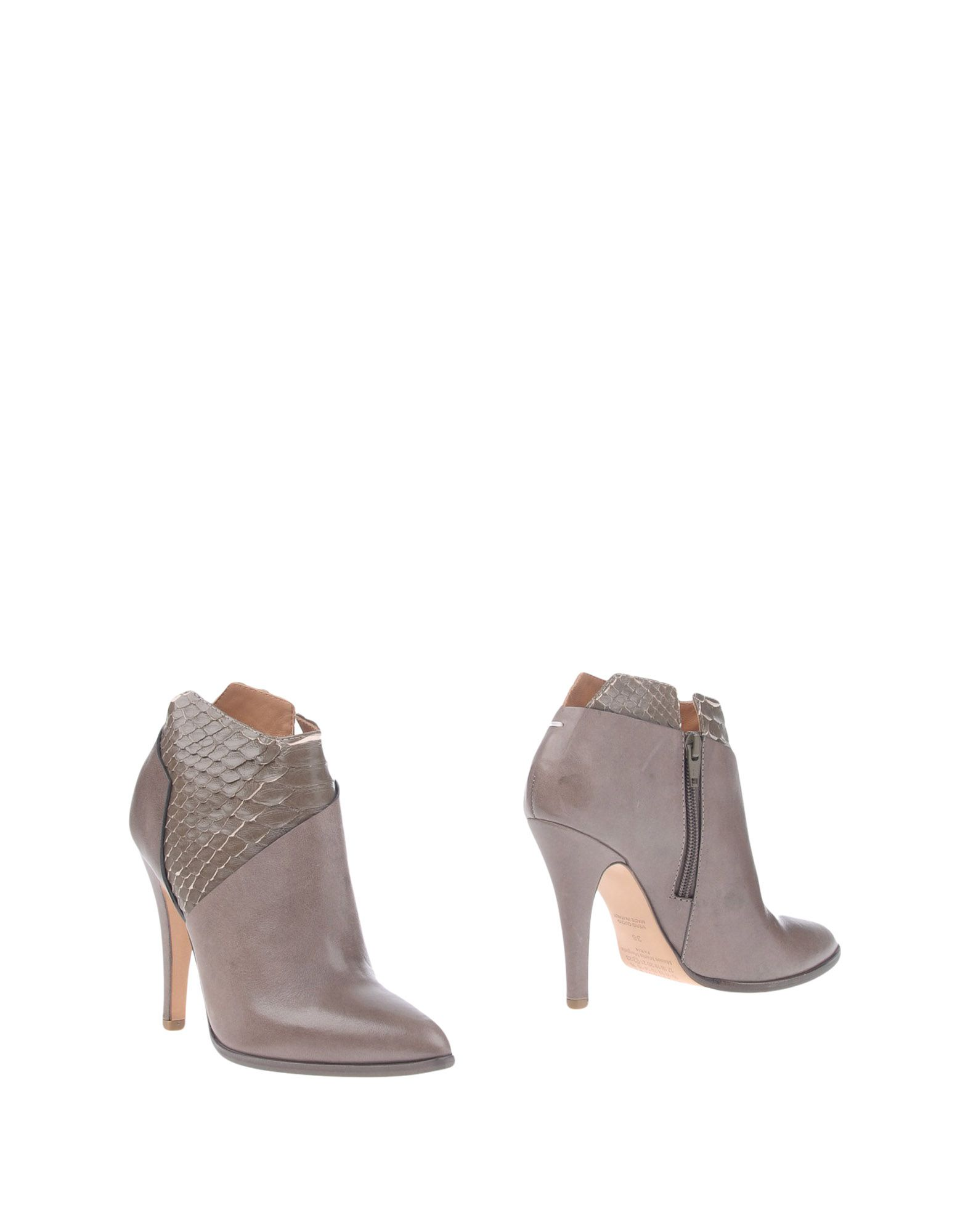 Rabatt Schuhe Maison Margiela Stiefelette Damen  11309360LU