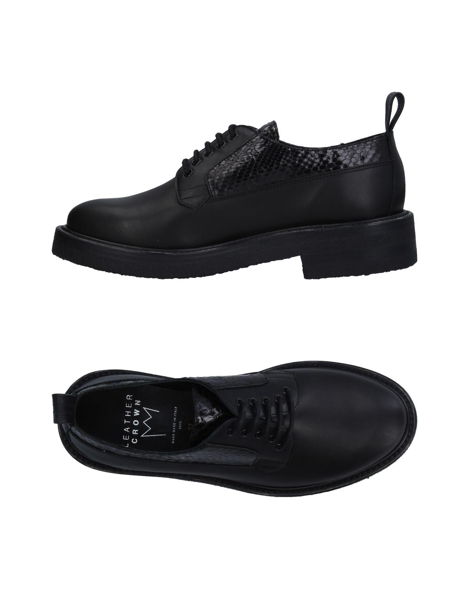 Gut um billige Schuhe zu tragenLeather Crown Schnürschuhe Damen  11309416GS