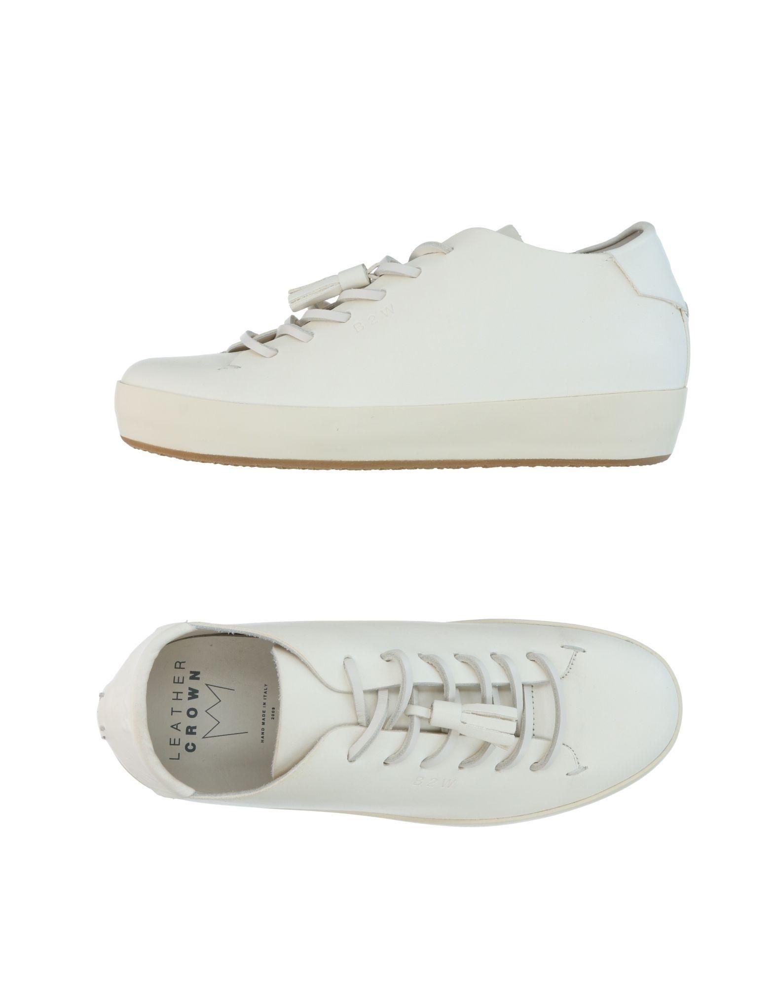 Stilvolle Sneakers billige Schuhe Leather Crown Sneakers Stilvolle Damen  11309513AO 502287