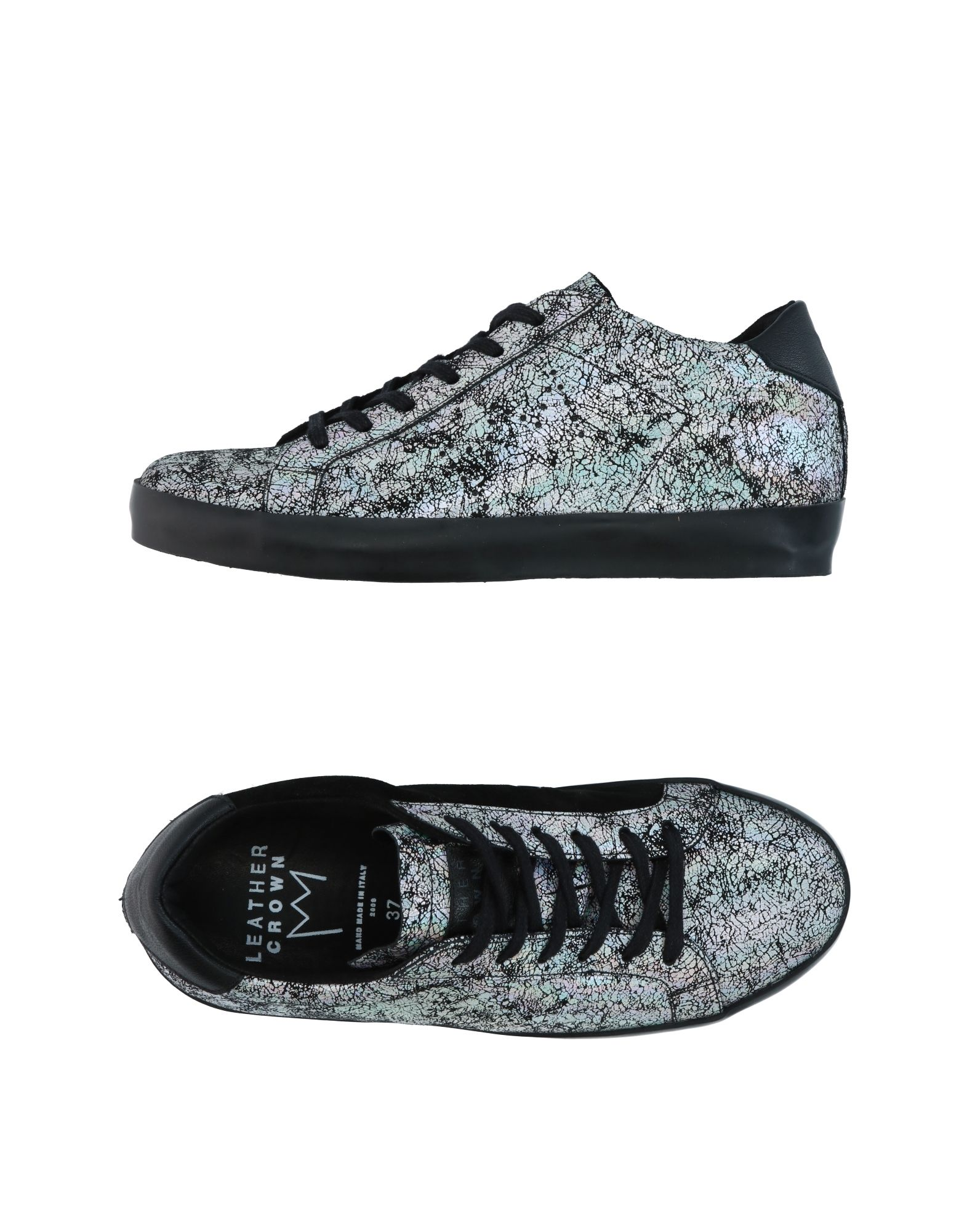 Sneakers Leather Crown Donna - 11309615RV