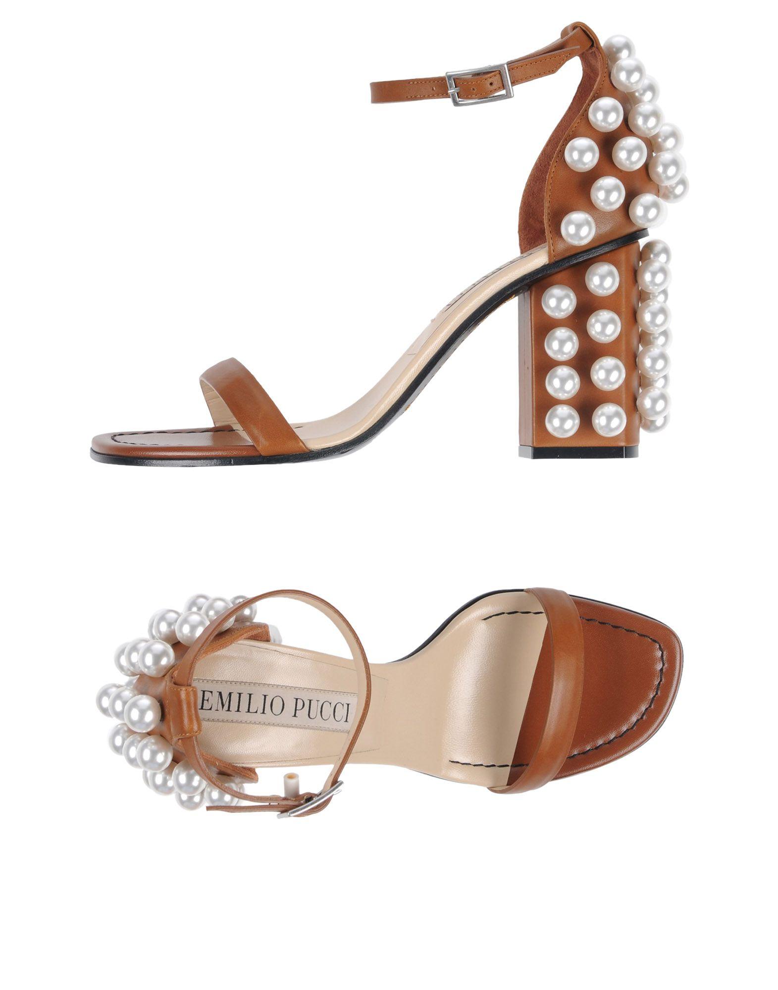Emilio  Pucci Sandalen Damen  Emilio 11310659ECGünstige gut aussehende Schuhe 417f67