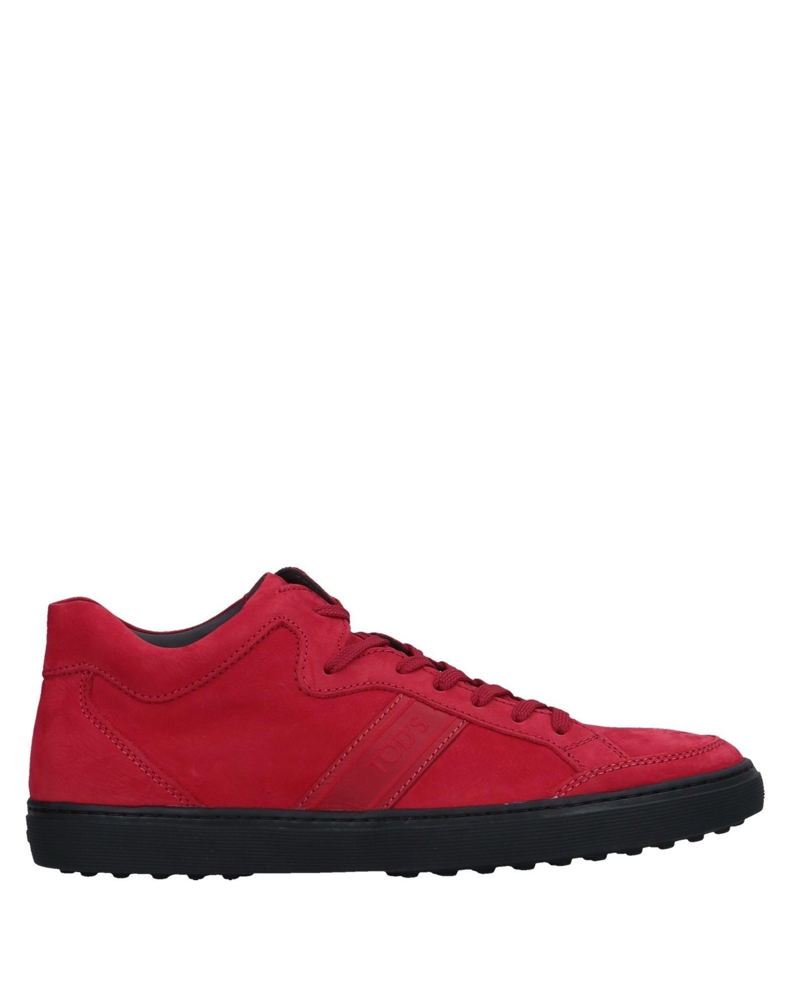 Sneakers Tod's Homme - Sneakers Tod's  Rouge Meilleur modèle de vente