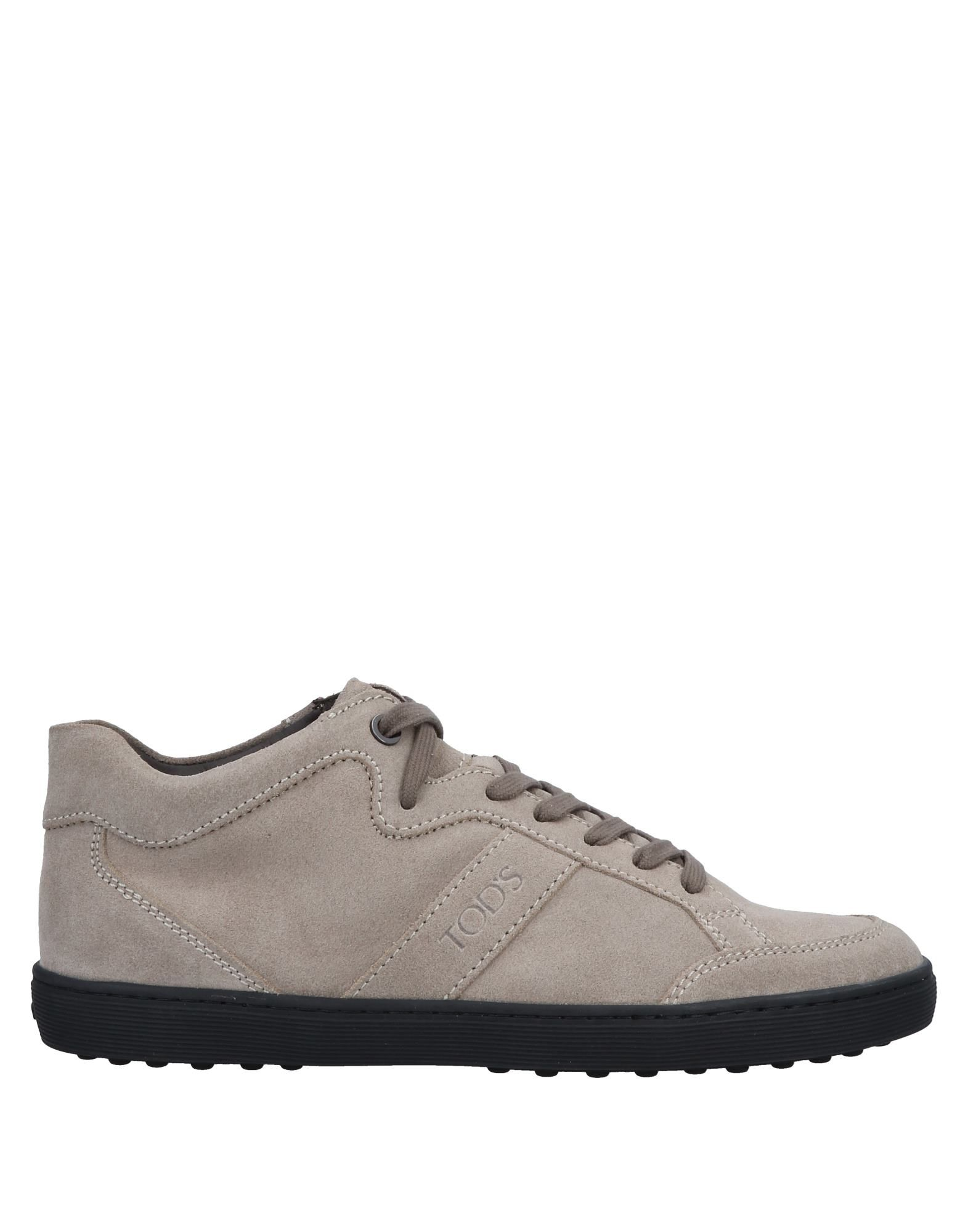 Baskets Tod's Femme - Baskets Tod's Beige Chaussures casual sauvages