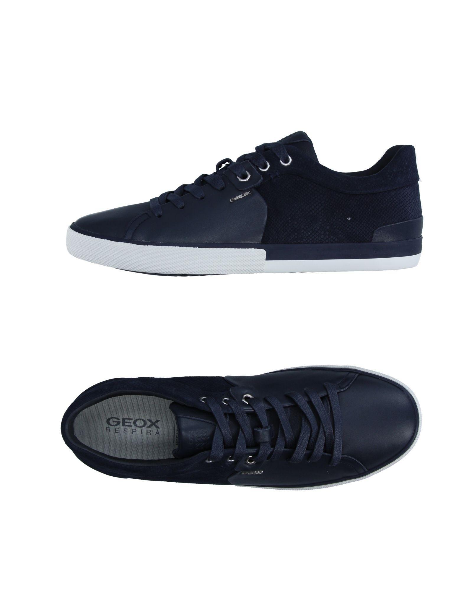 Sneakers Geox Homme - Sneakers Geox  Bleu foncé Dédouanement saisonnier
