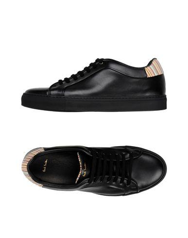 Paul Smith Mens Shoe Basso Black Sneakers Men Paul Smith