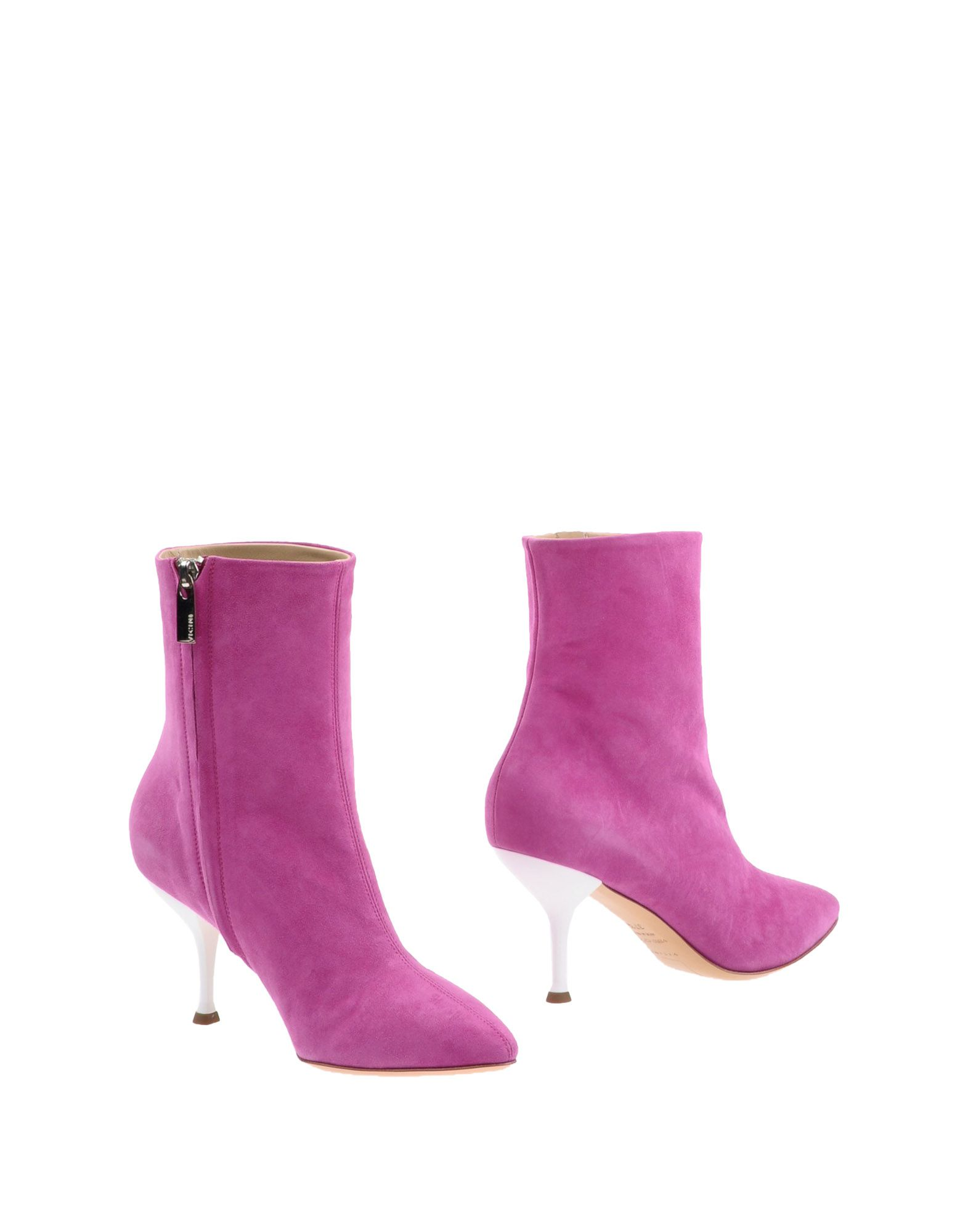 Bottine Vicini Femme - Bottines Vicini Fuchsia Mode pas cher et belle