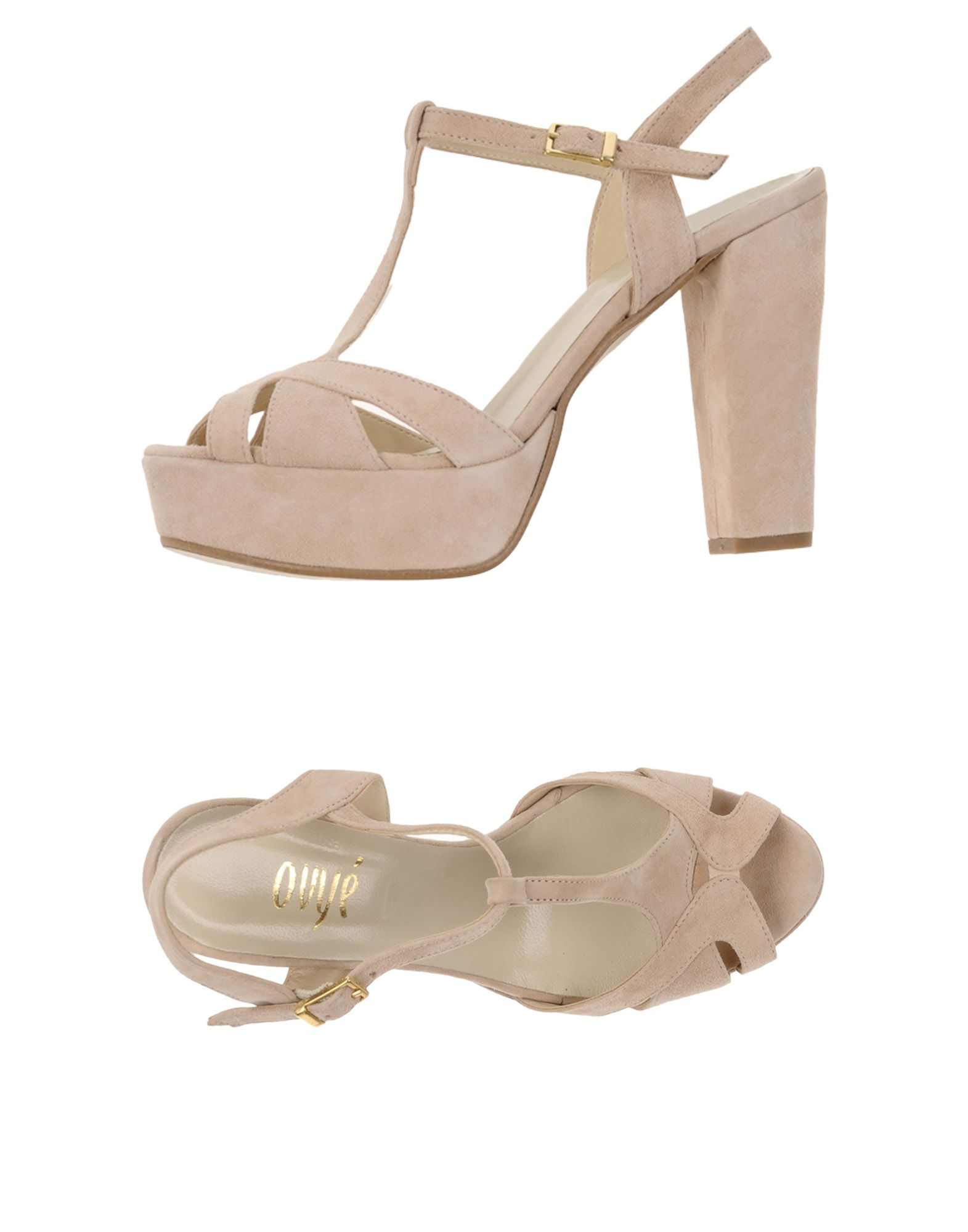 Ovye' By Cristina Lucchi Sandalen Damen  11312532EF Gute Qualität beliebte Schuhe