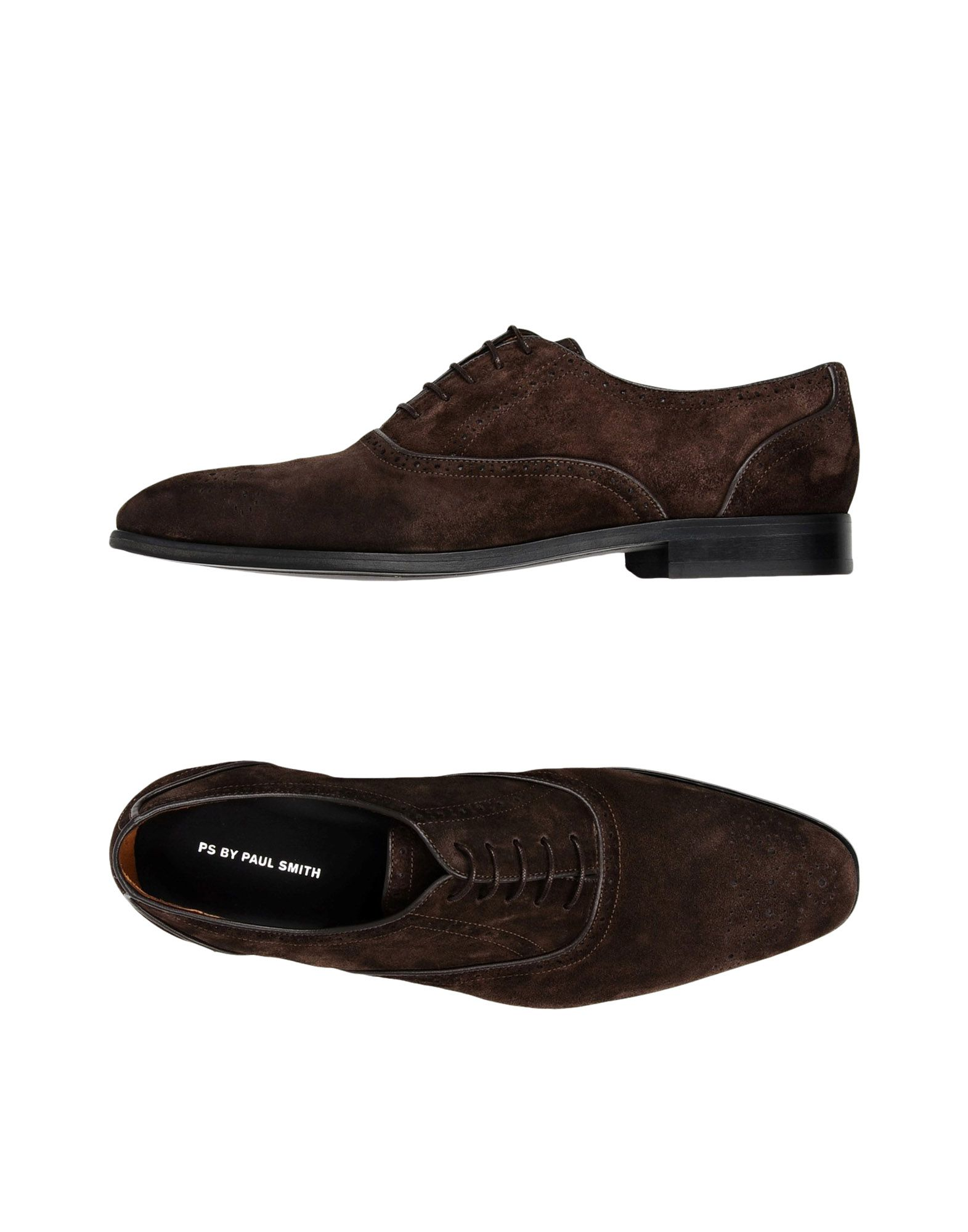 Stringate Ps By Paul Smith Mens Shoe Gilbert Dar - Uomo - 11312721PN