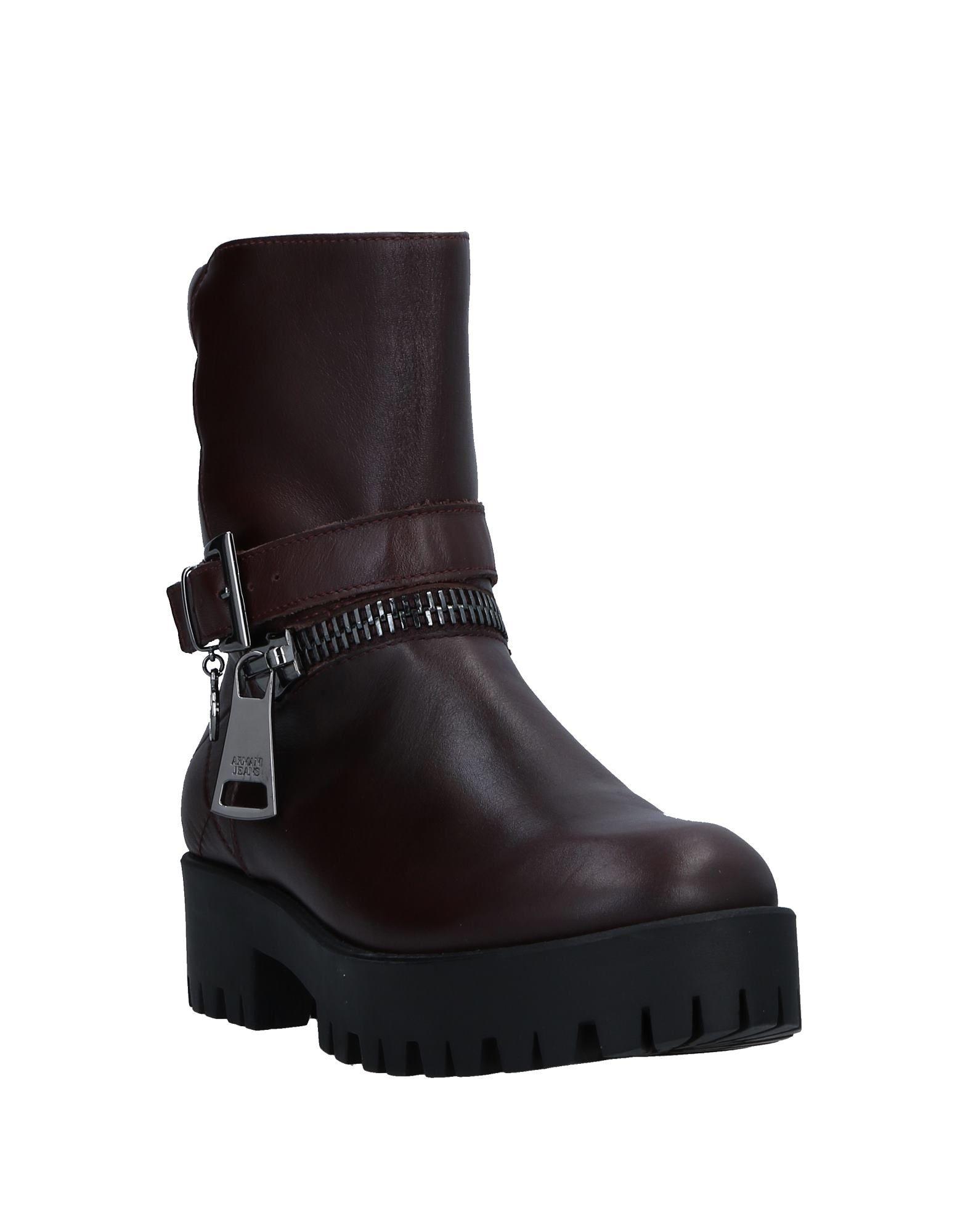 Gut Jeans um billige Schuhe zu tragenArmani Jeans Gut Stiefelette Damen  11313256OL 728315