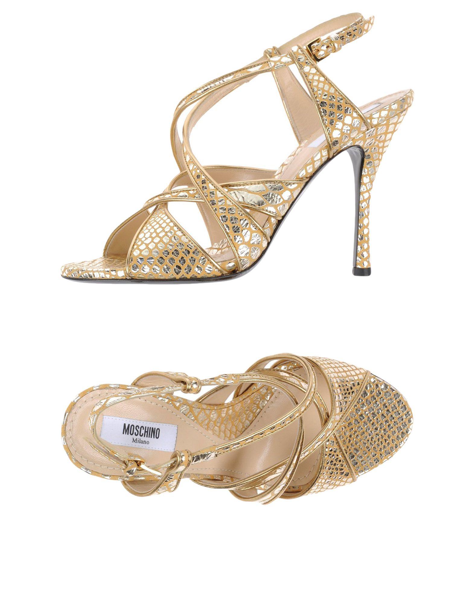 Moschino Sandalen strapazierfähige Damen  11313317WPGut aussehende strapazierfähige Sandalen Schuhe 971db0