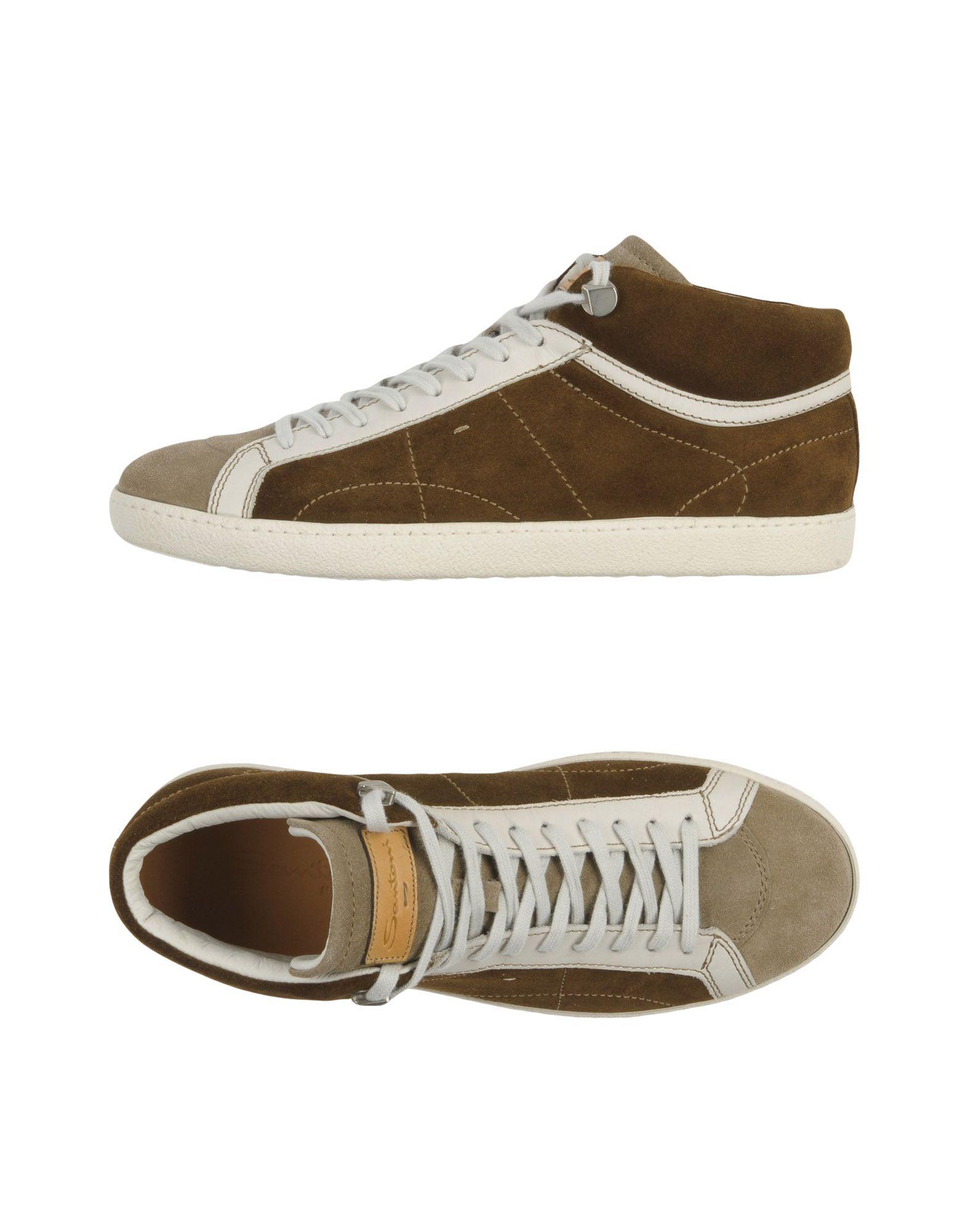 Haltbare Mode billige Schuhe Santoni Sneakers Herren  11313745KH Heiße Schuhe