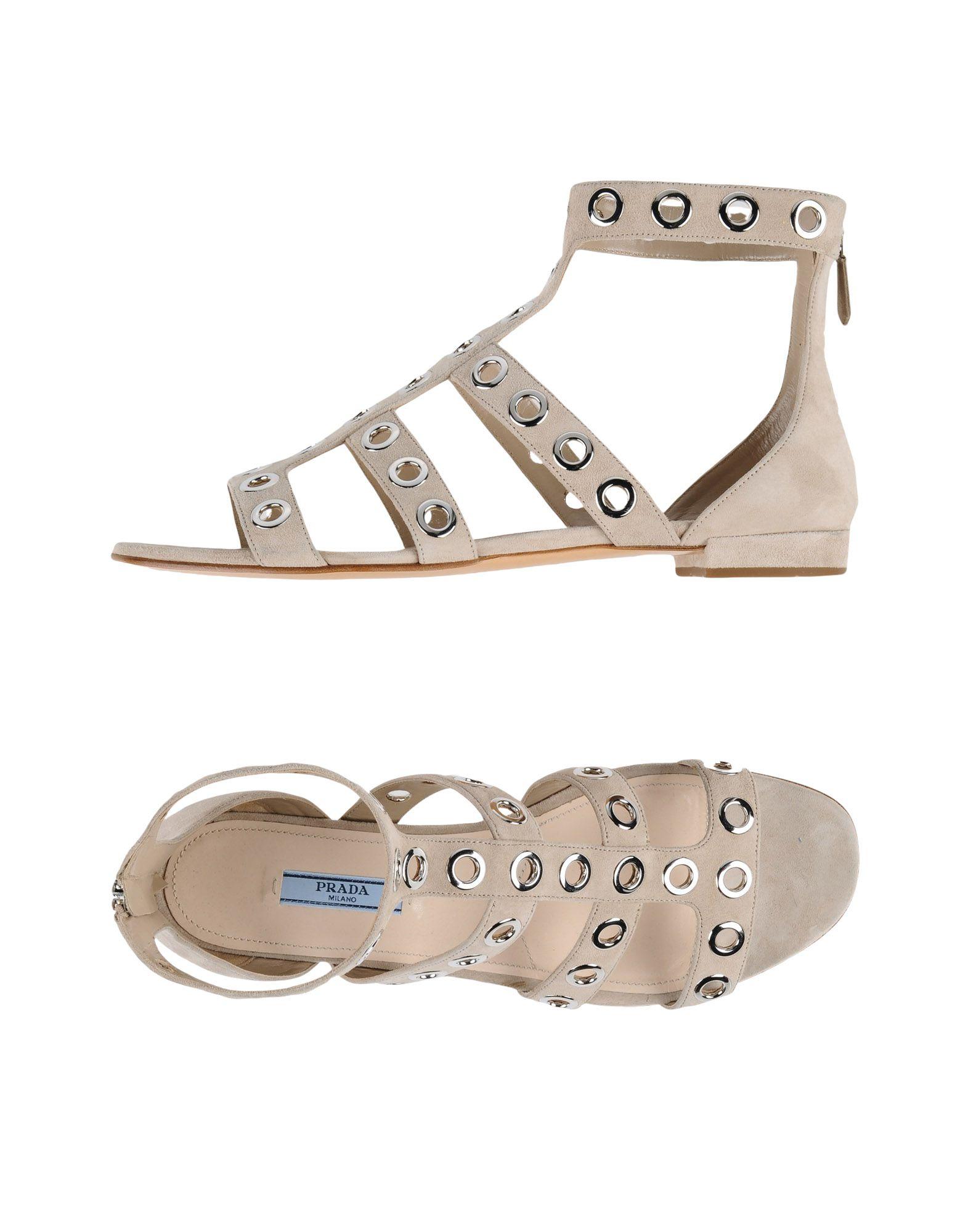 Haltbare Mode billige Schuhe Prada Sandalen Damen  11314167XH Heiße Schuhe