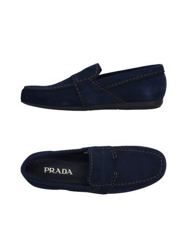 Zapatos de moda hombres y mujeres de moda de casual Mocasín Prada Hombre - Mocasines Prada - 11314294RQ Azul oscuro 75e18d