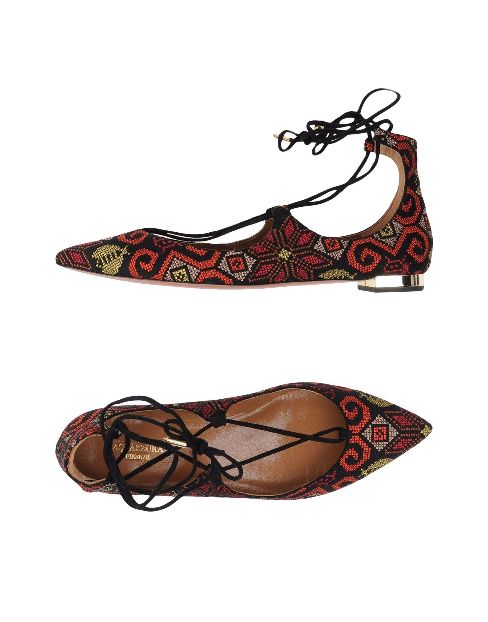 Aquazzura Ballerinas Damen  11314641GGGünstige gut aussehende Schuhe