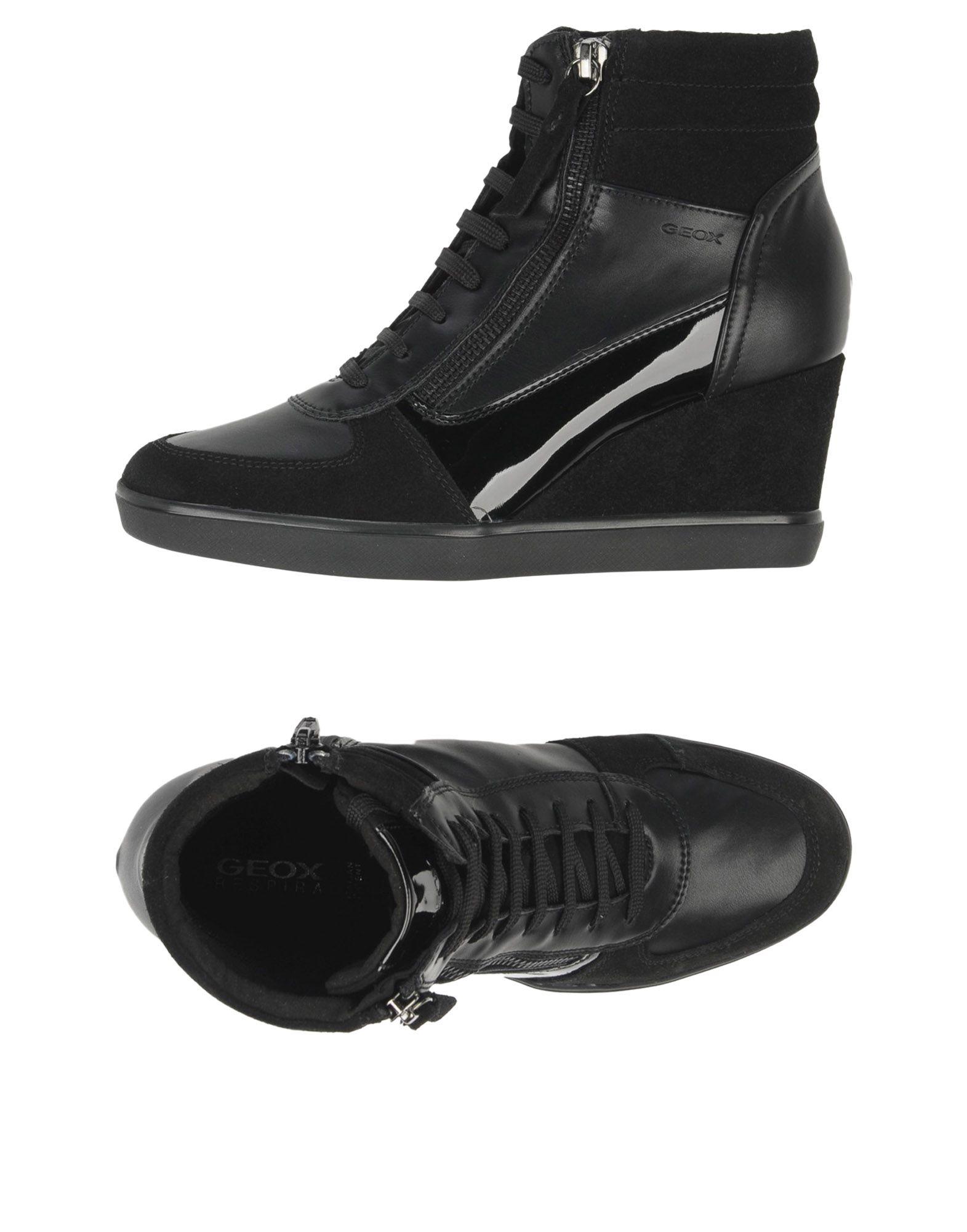 Baskets Geox Femme - Baskets discount Geox Noir Dernières chaussures discount Baskets pour hommes et femmes 698787
