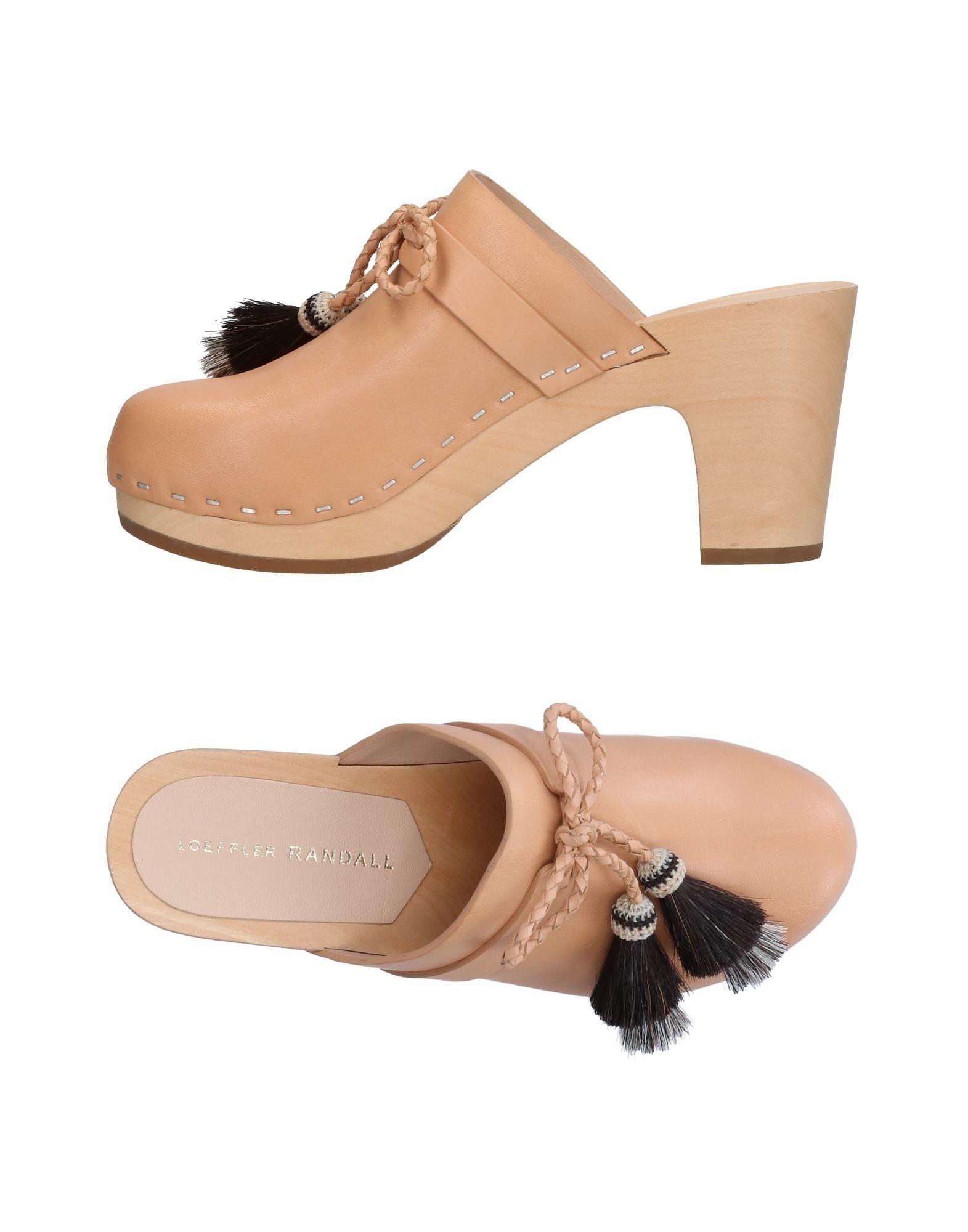 Rabatt Schuhe Loeffler Randall Pantoletten Damen  11315846LL