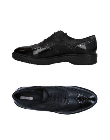 Geox Lacets Geox Geox Chaussures Noir Chaussures Noir Chaussures Lacets À À wZqFfxdwU