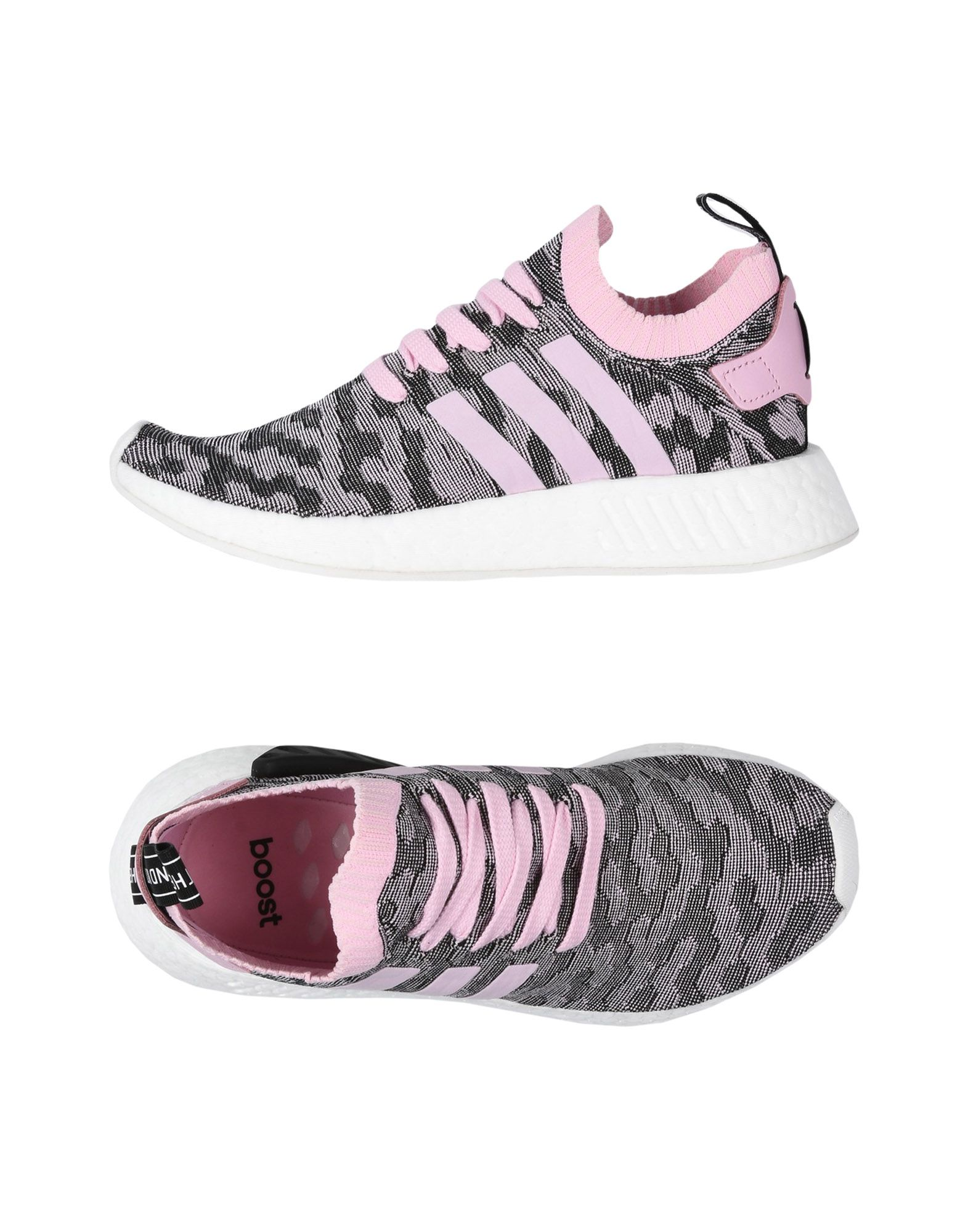 Baskets Adidas Originals Nmd_R2 Pk W - Femme - Baskets Adidas Originals Rose Remise de marque