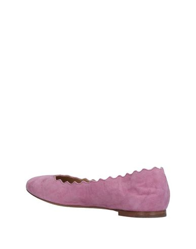 CHLOÉ Ballet Flats in Pink
