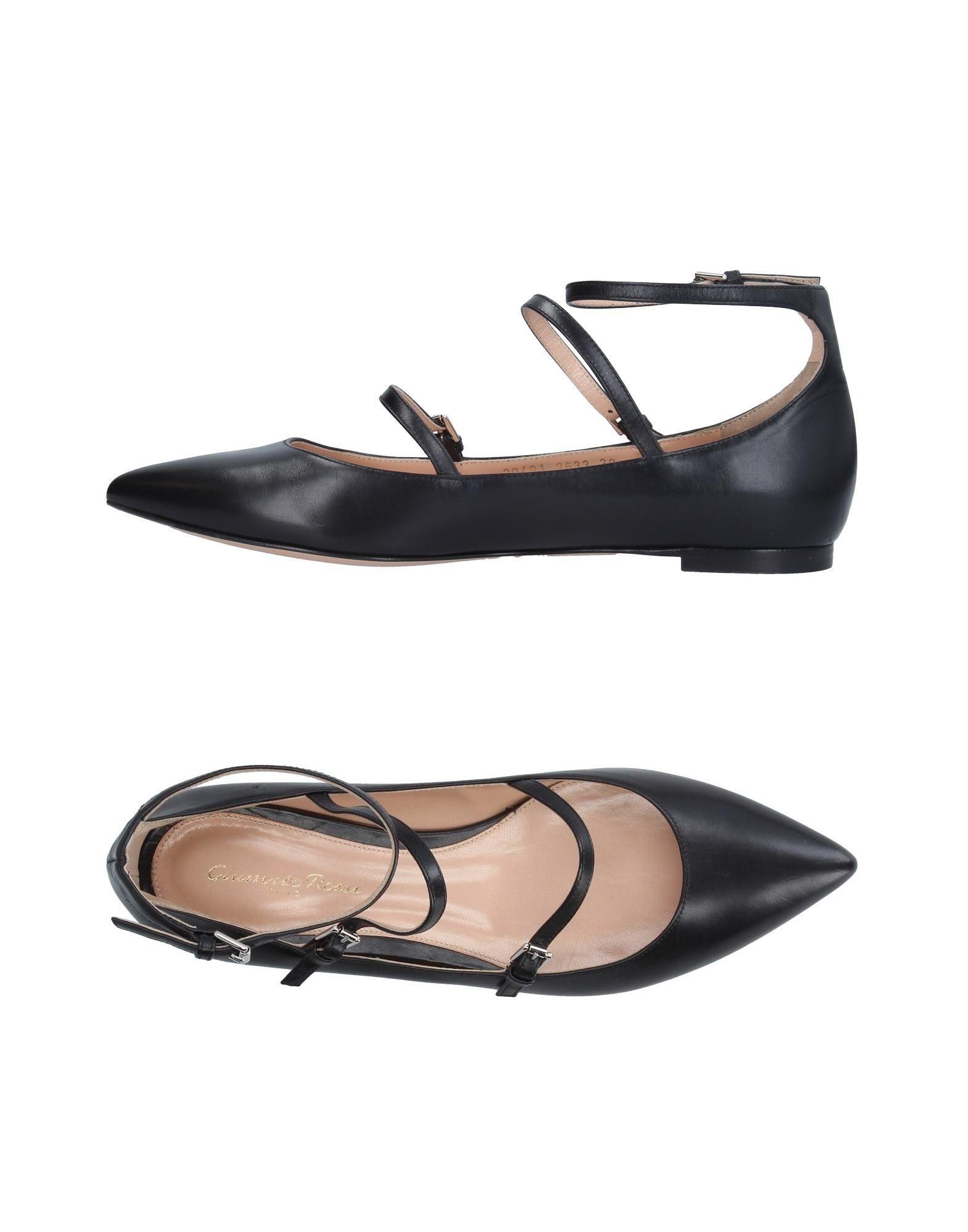 Gianvito Rossi Gianvito Ballet Flats - Women Gianvito Rossi Rossi Ballet Flats online on  Australia - 11317060UL e500a9