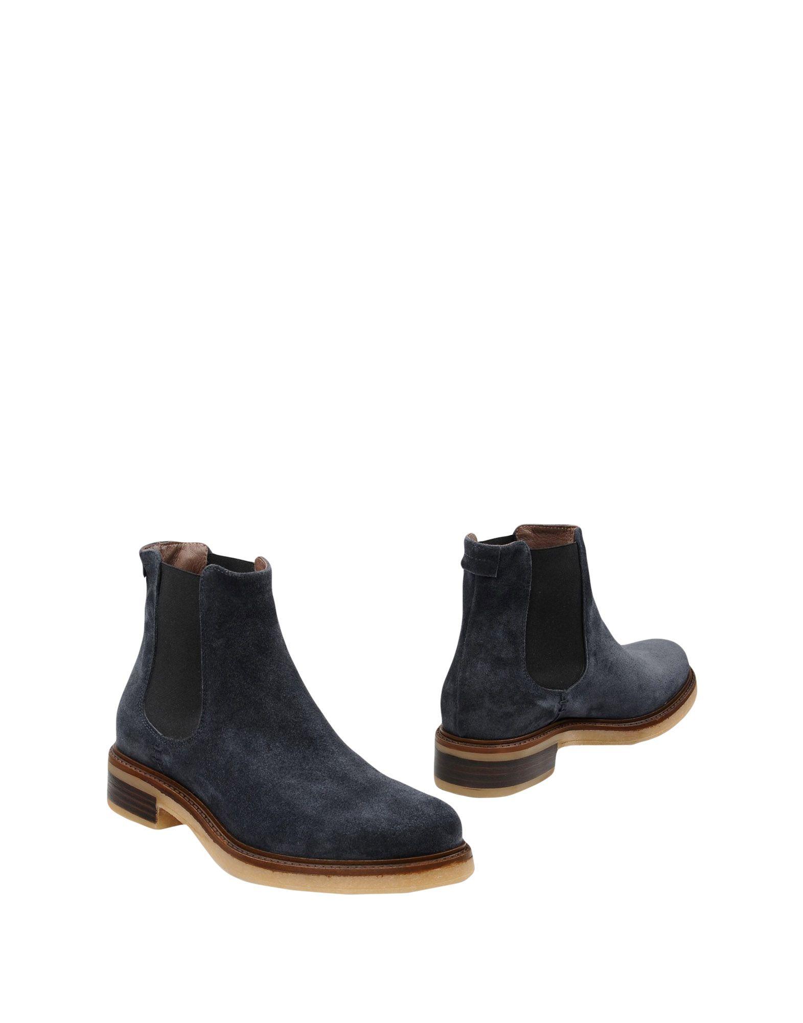 Bottillons Leonardo Principi Femme - Bottillons Leonardo Principi Bleu foncé Dernières chaussures discount pour hommes et femmes