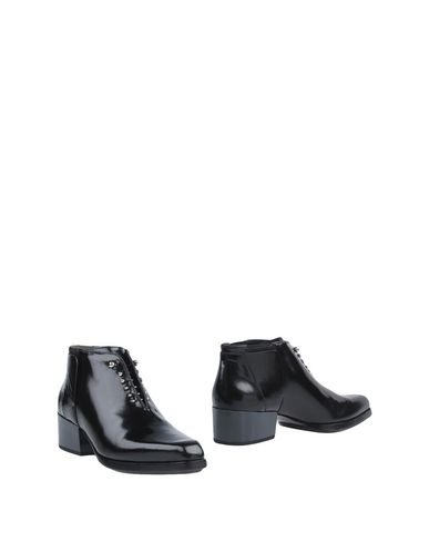 3.1 PHILLIP LIM Newton Glossed-Leather Ankle Boots in Black