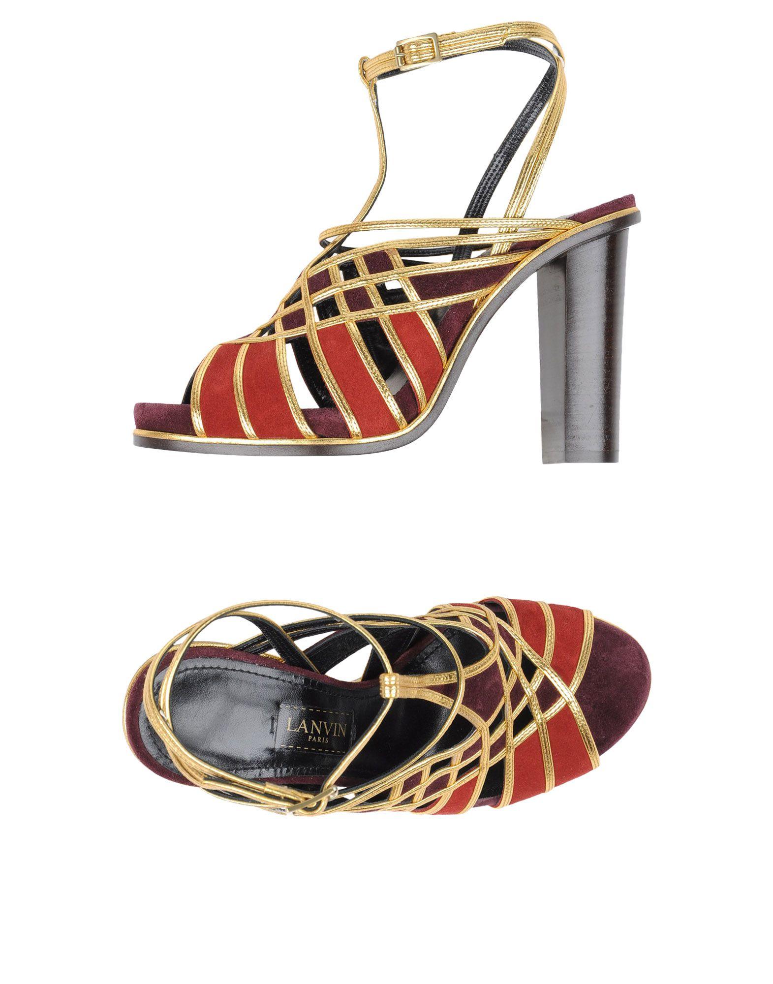 Haltbare Mode billige Schuhe Lanvin Sandalen Damen  11319010AU Heiße Schuhe