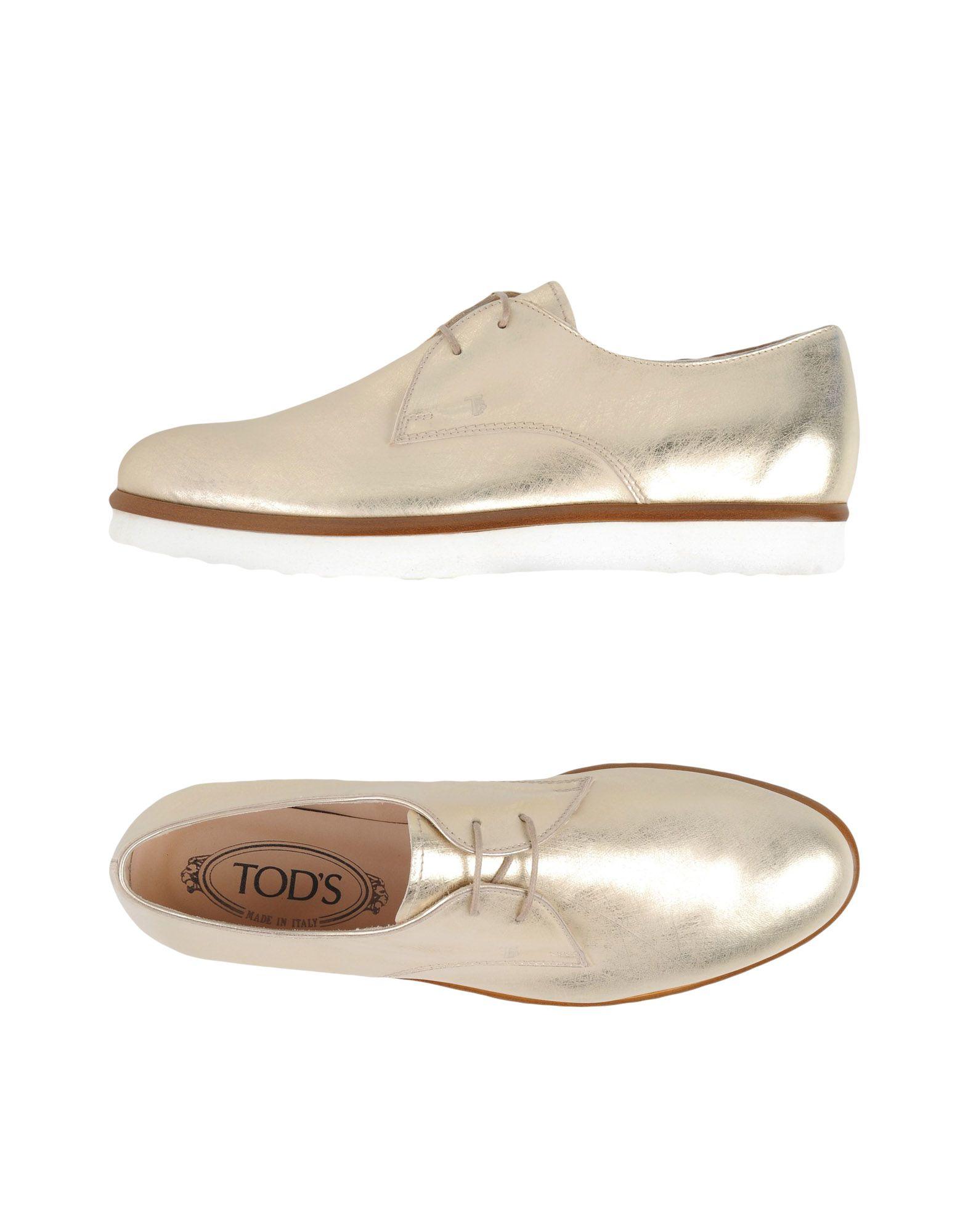 Tod's Schnürschuhe Damen  11319435ERGut aussehende strapazierfähige Schuhe