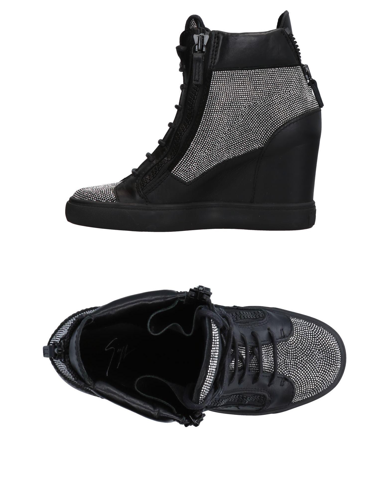 Tiempo limitado especial Zapatillas Giuseppe Mujer Zanotti Mujer Giuseppe - Zapatillas Giuseppe Zanotti  Negro 6e7c5a