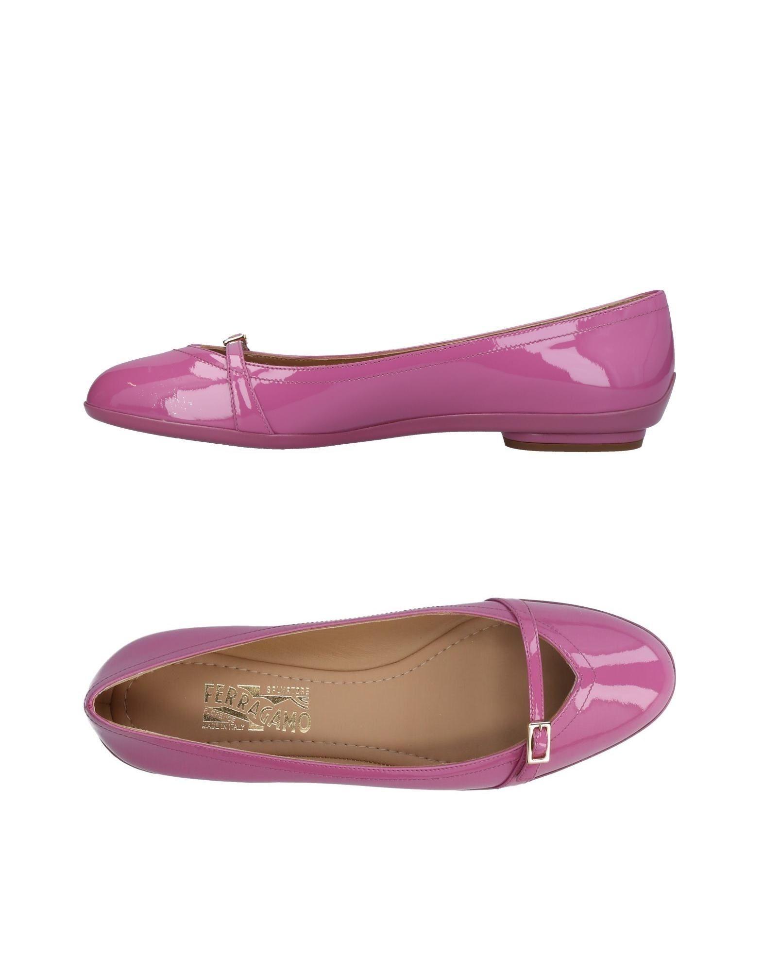 Rabatt Schuhe Salvatore Ferragamo Ballerinas Damen  11319696NH