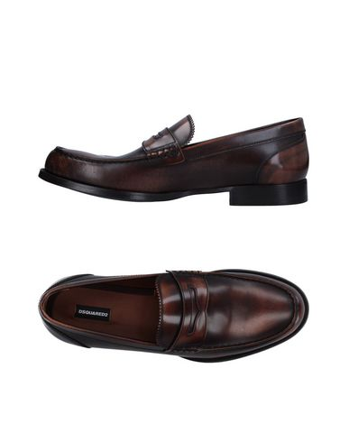 Dsquared2 Loafers In Dark Brown