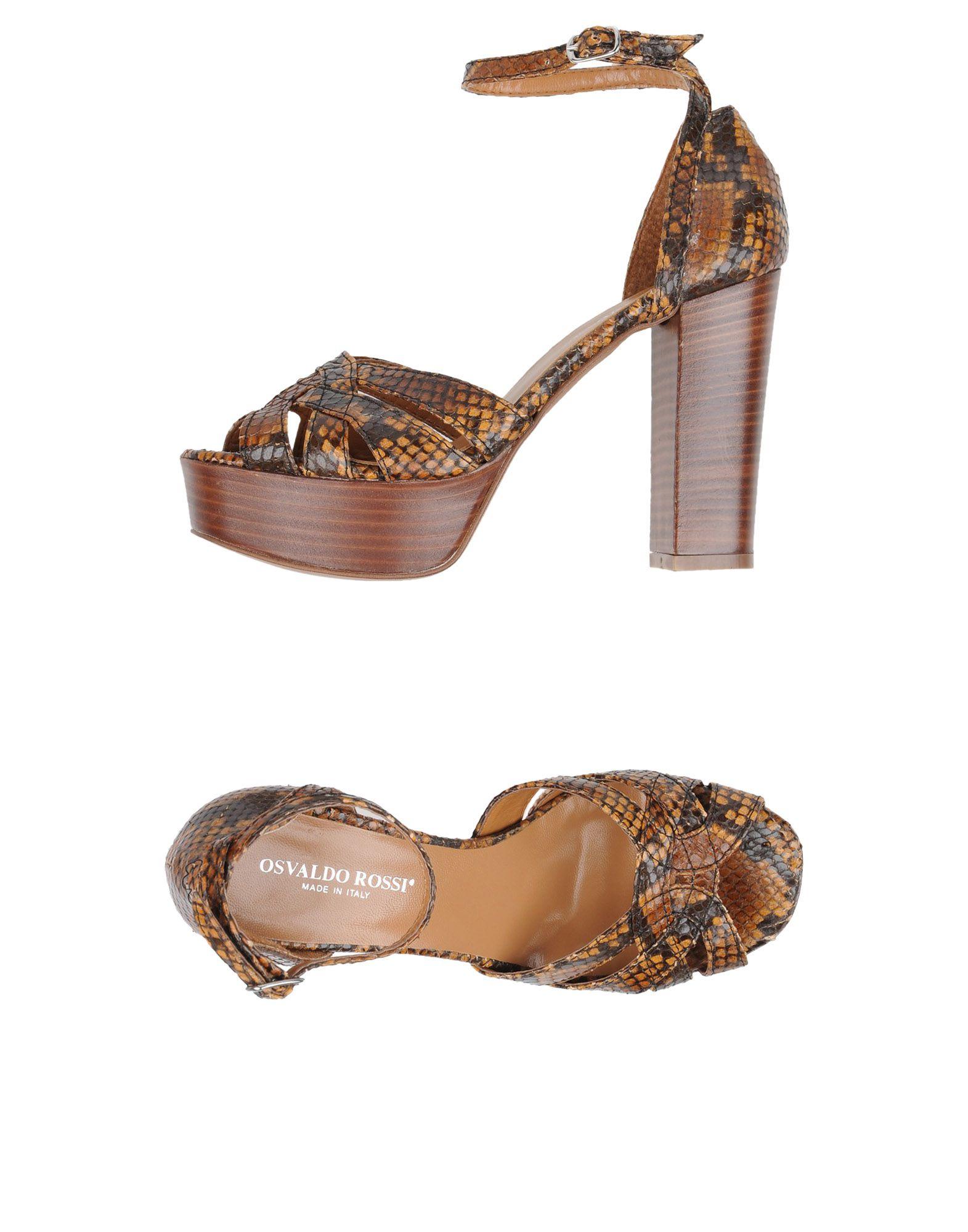 Stilvolle billige Schuhe Osvaldo Rossi Sandalen Damen  11322085JU