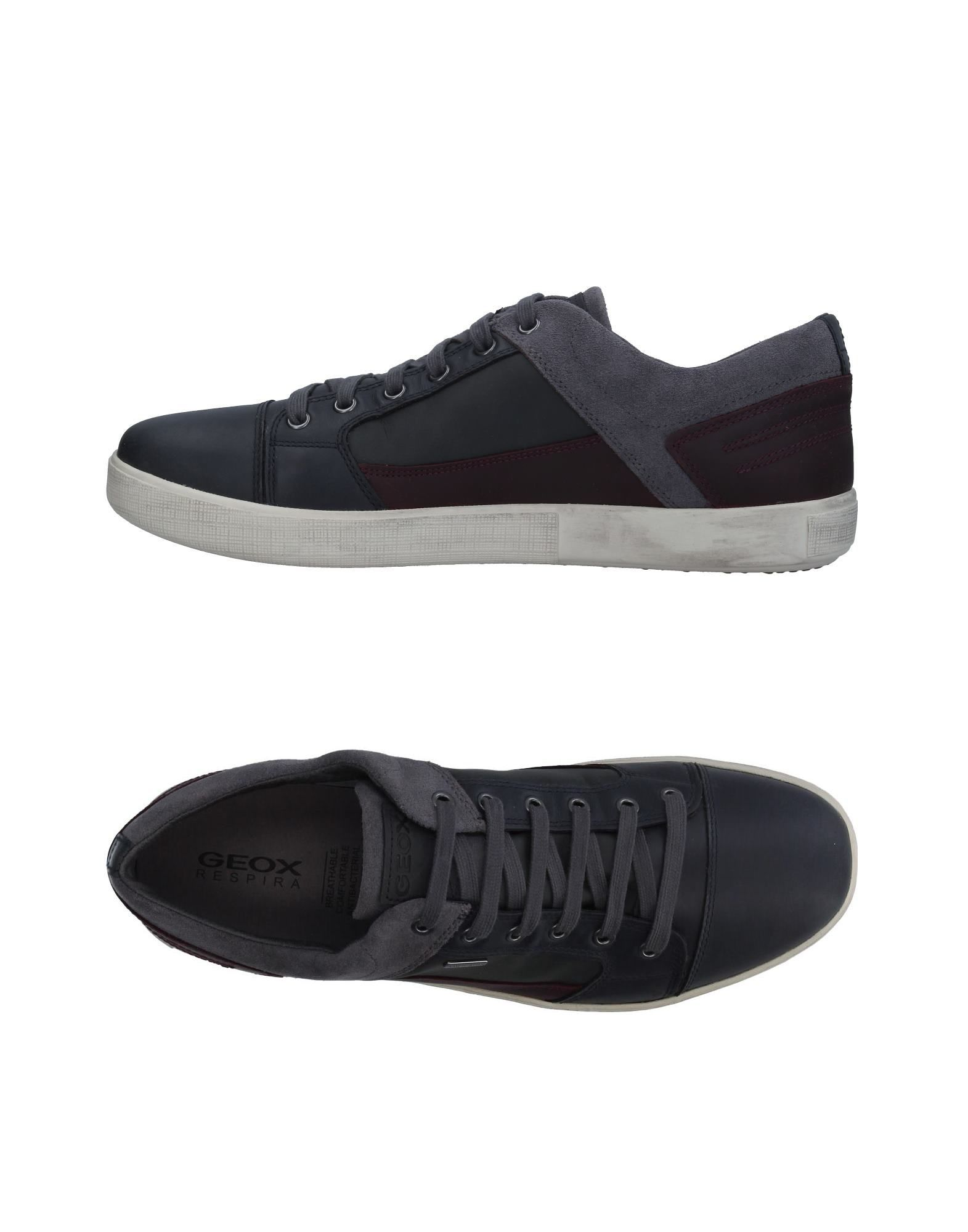 Sneakers Geox Homme - Sneakers Geox  Anthracite Spécial temps limité
