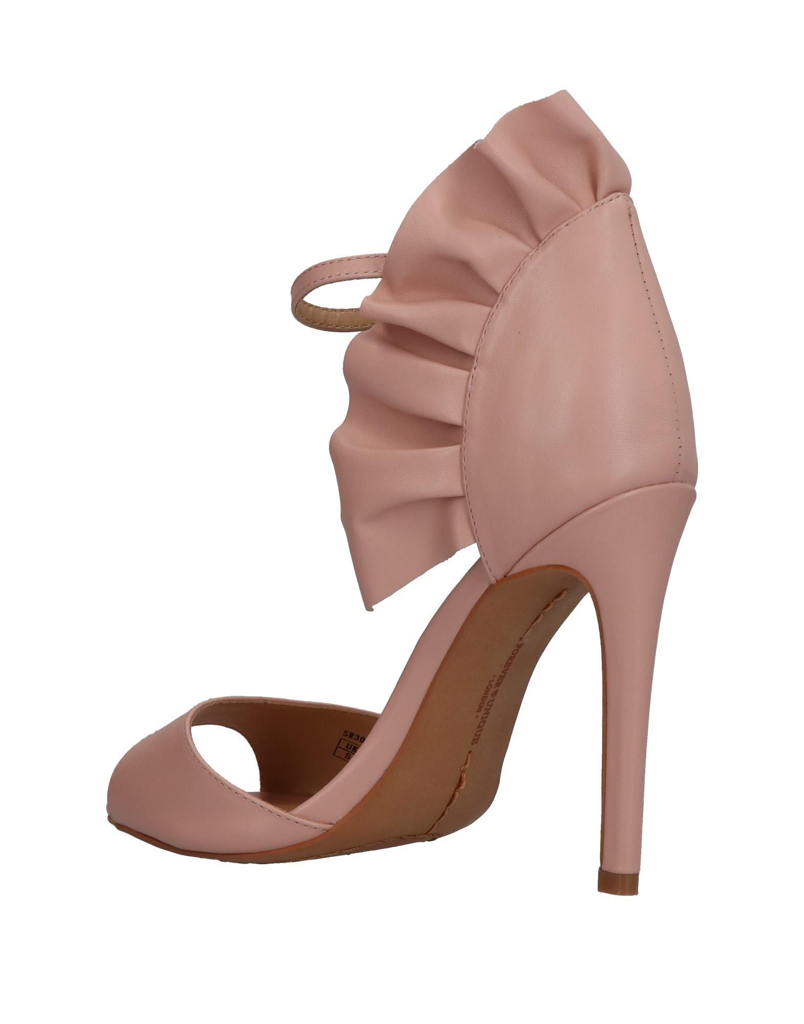 Stilvolle billige Damen Schuhe Forever Unique Sandalen Damen billige  11322754LR 255582
