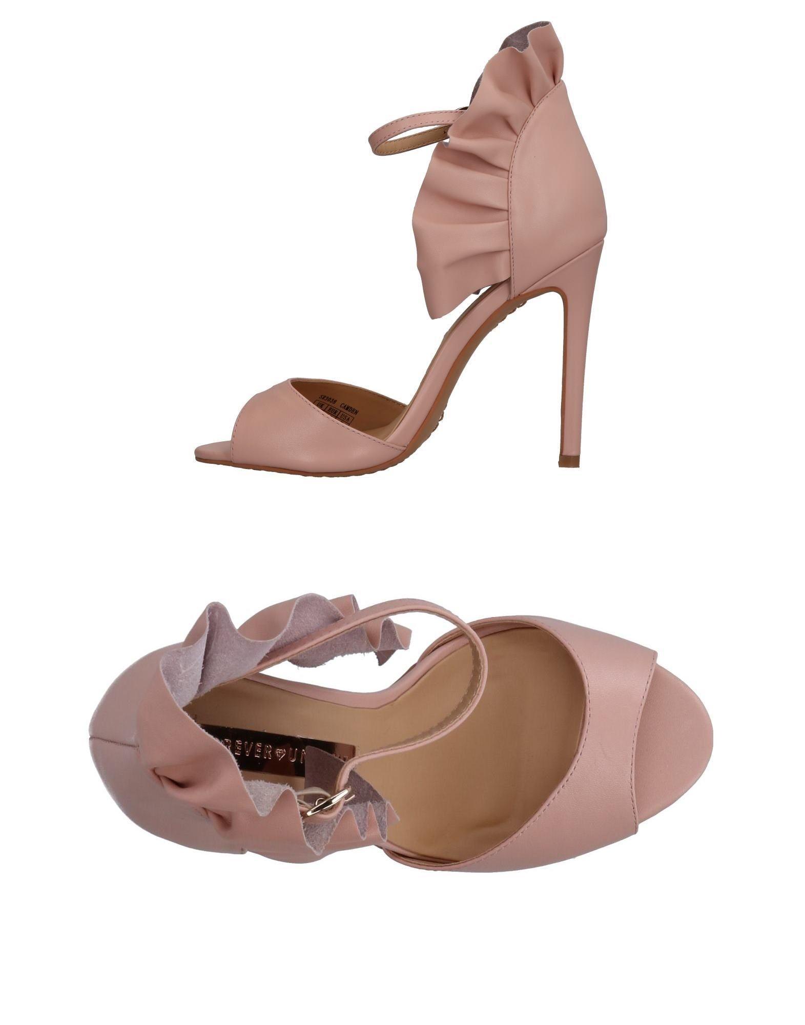 Stilvolle billige Schuhe Forever Unique Sandalen Damen  11322754LR