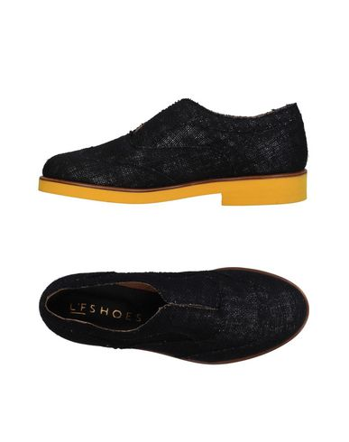 L'F SHOES Loafers in Black