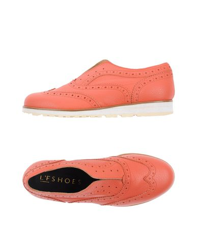 L'F SHOES Loafers in Salmon Pink