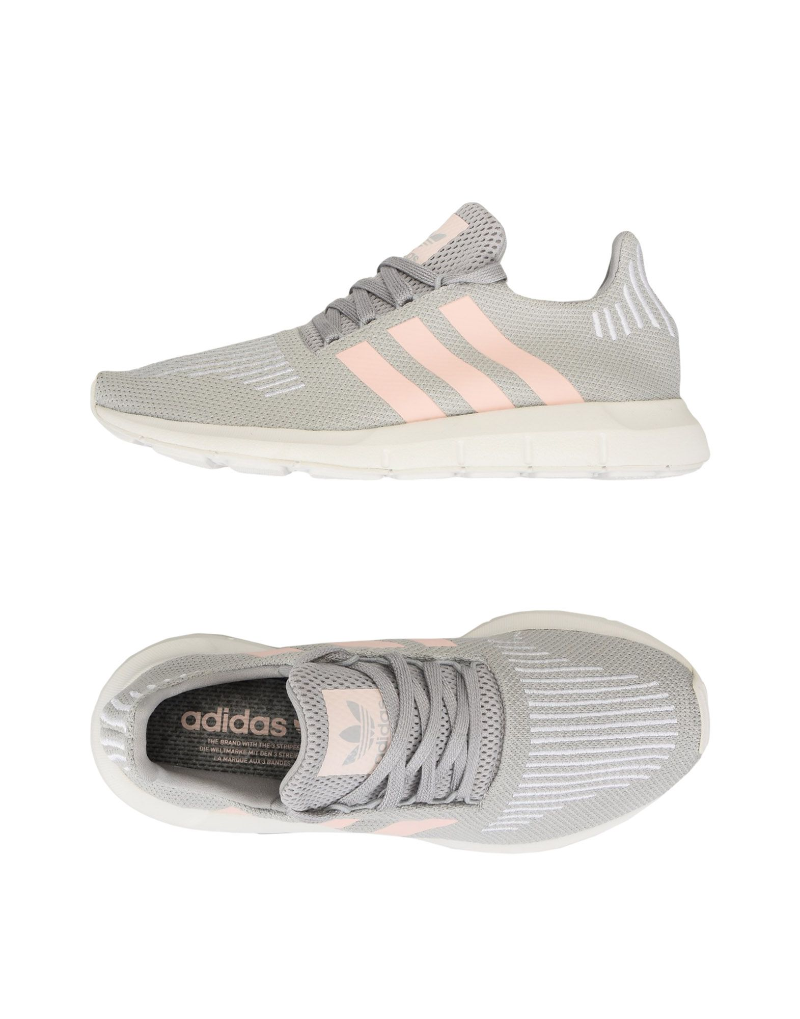Casual salvaje Zapatillas Adidas Originals Swift Run Run Run W - Mujer - Zapatillas Adidas Originals  Gris perla 278ee3