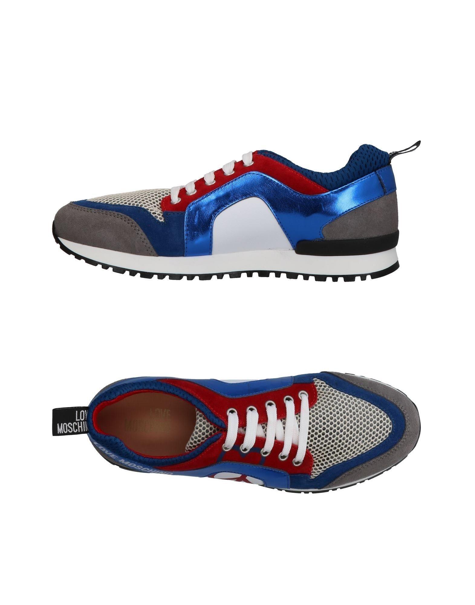 Zapatillas Love Moschino Mujer - Zapatillas Love Moschino   Moschino Gris 3a545c