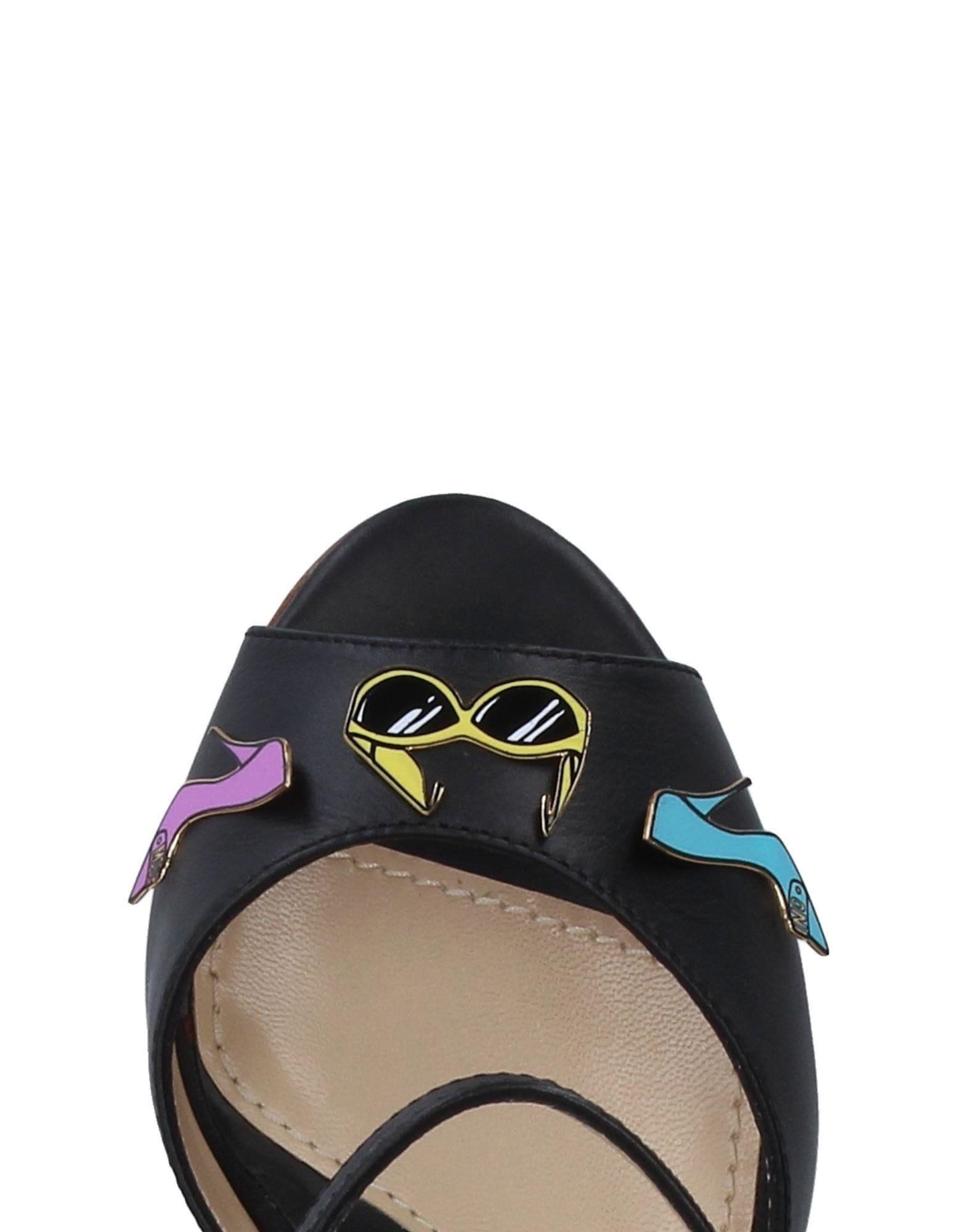 Haltbare Mode billige Schuhe Moschino Sandalen Damen  11326429JV Heiße Schuhe
