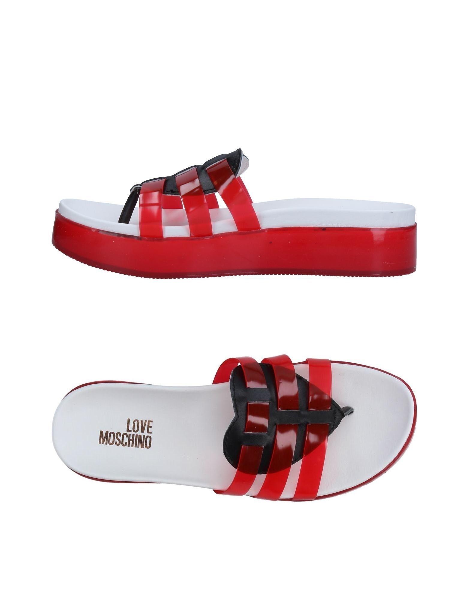 Love Moschino Flip Flops Flip - Women Love Moschino Flip Flops Flops online on  Canada - 11326443SB 0aacd9