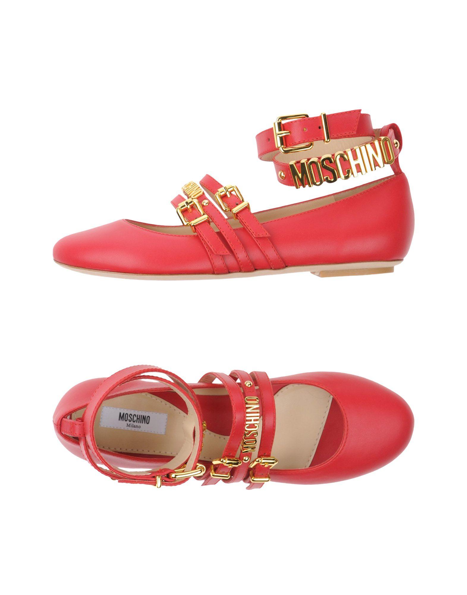 Stilvolle billige Schuhe Moschino Ballerinas 11326592SV Damen  11326592SV Ballerinas c2cc49