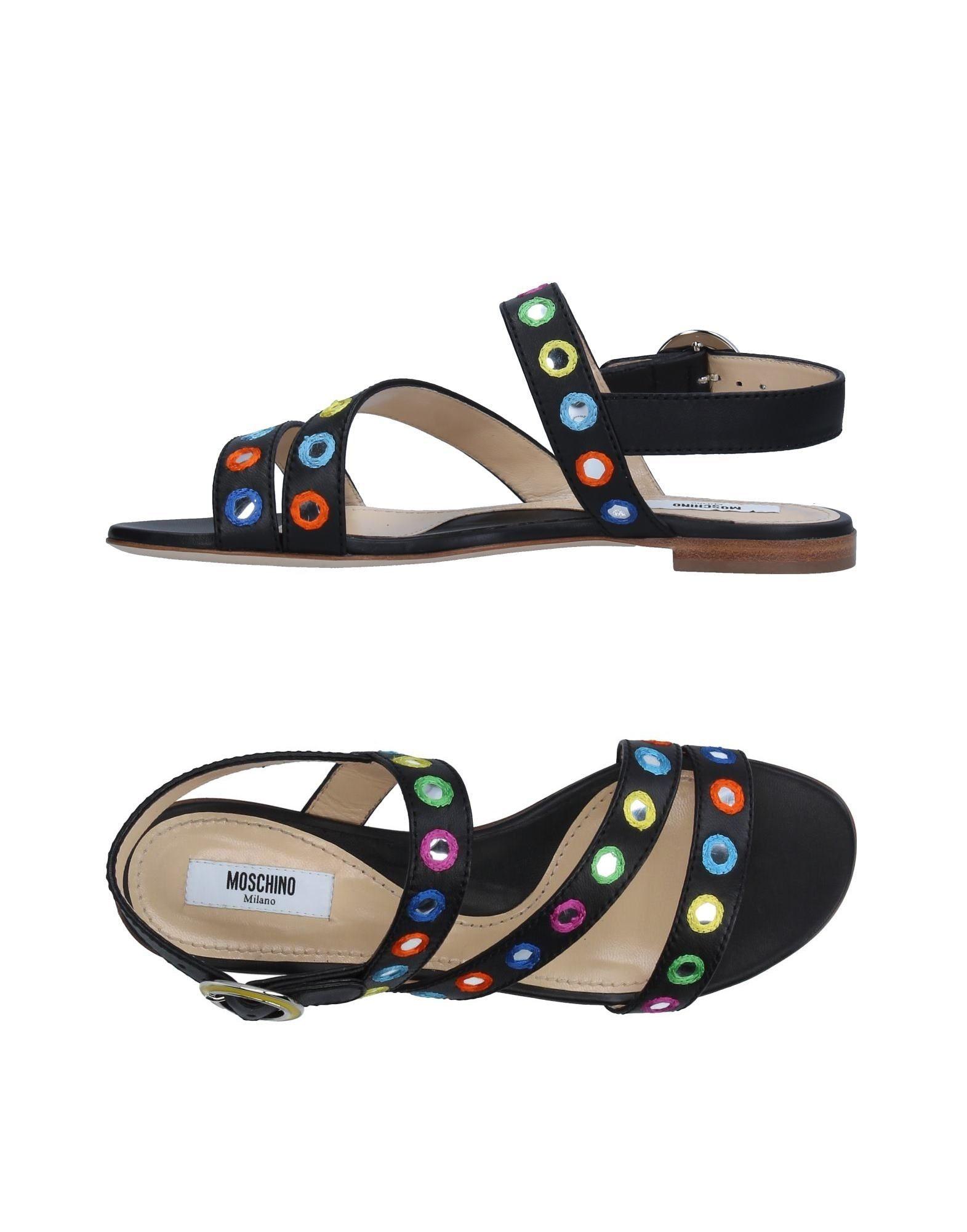 Stilvolle billige Schuhe Moschino Sandalen Damen  11326593GN