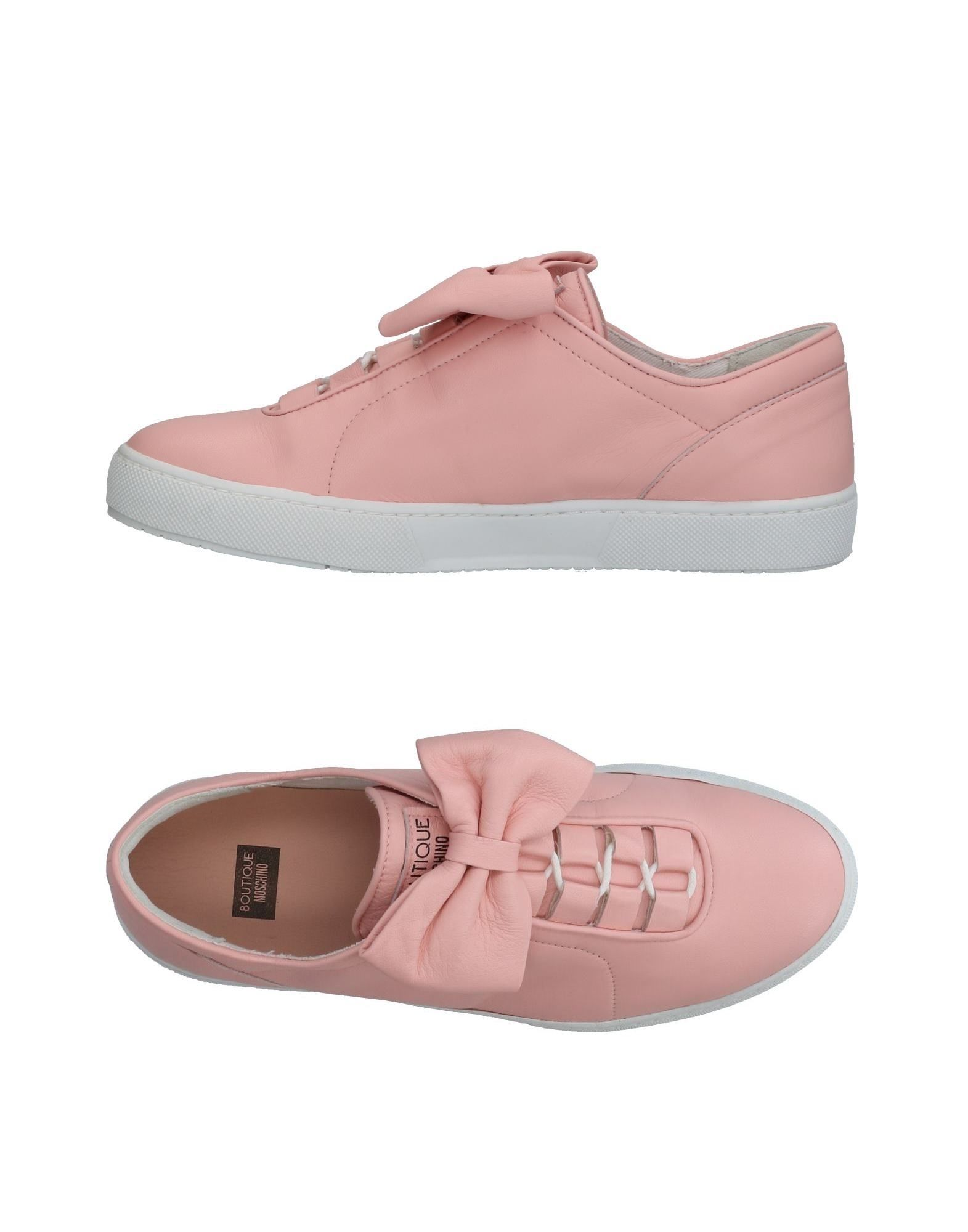 Stilvolle billige Schuhe Boutique Moschino Sneakers Damen  11326614PM