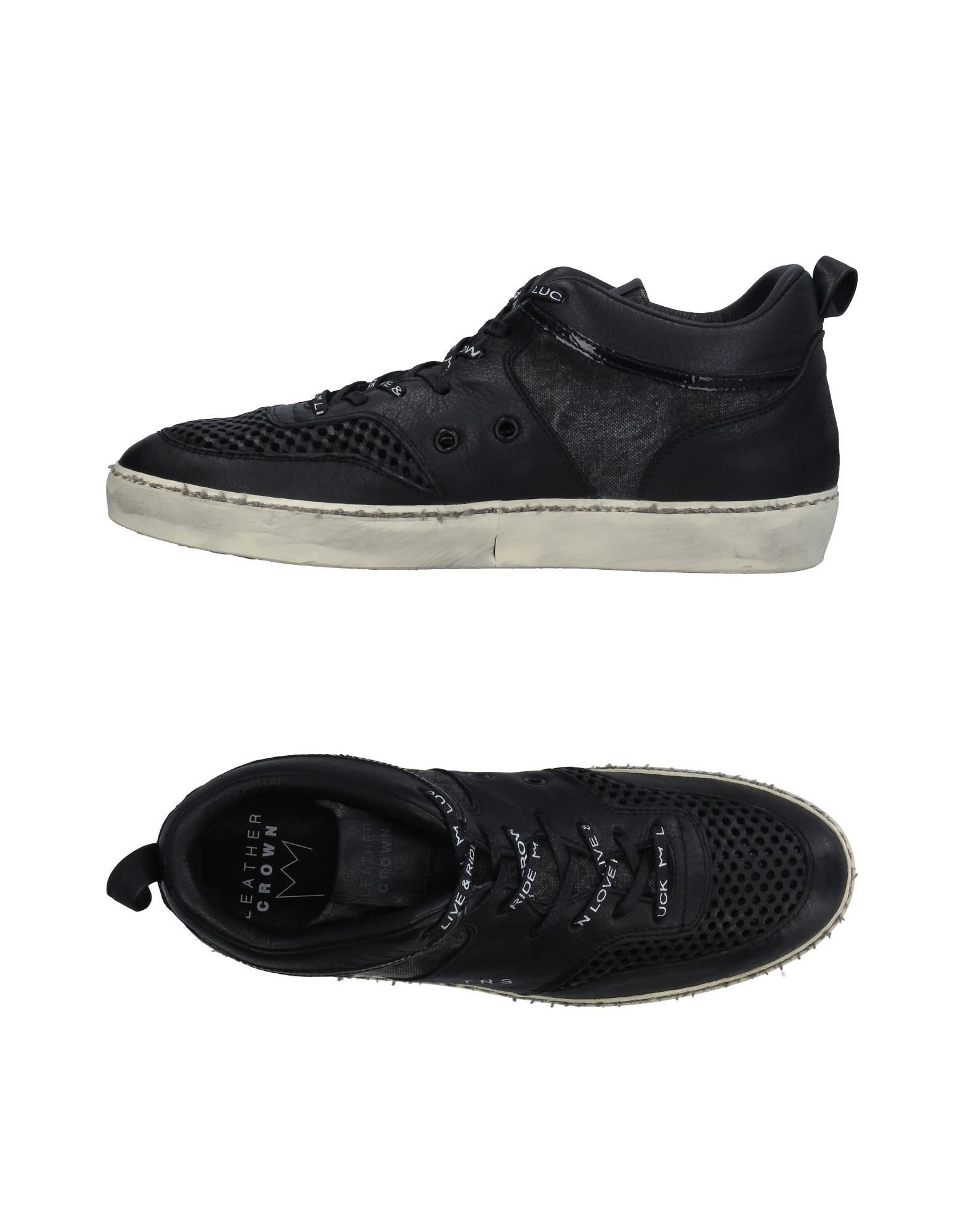 Sneakers Leather Crown Uomo Uomo Crown - 11326633ME db541e