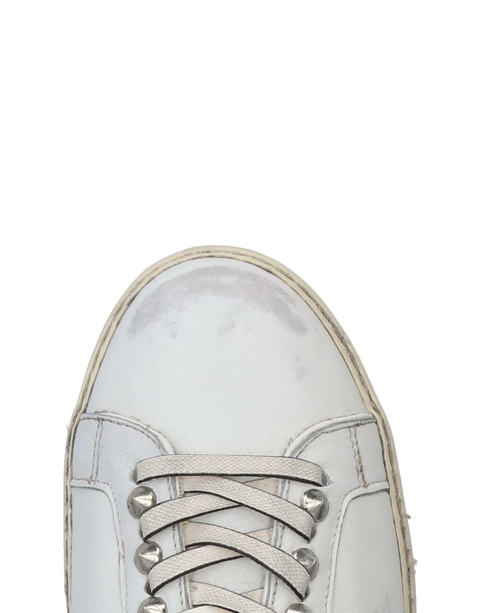 Leather Crown Sneakers Herren  11326638HX Neue Schuhe